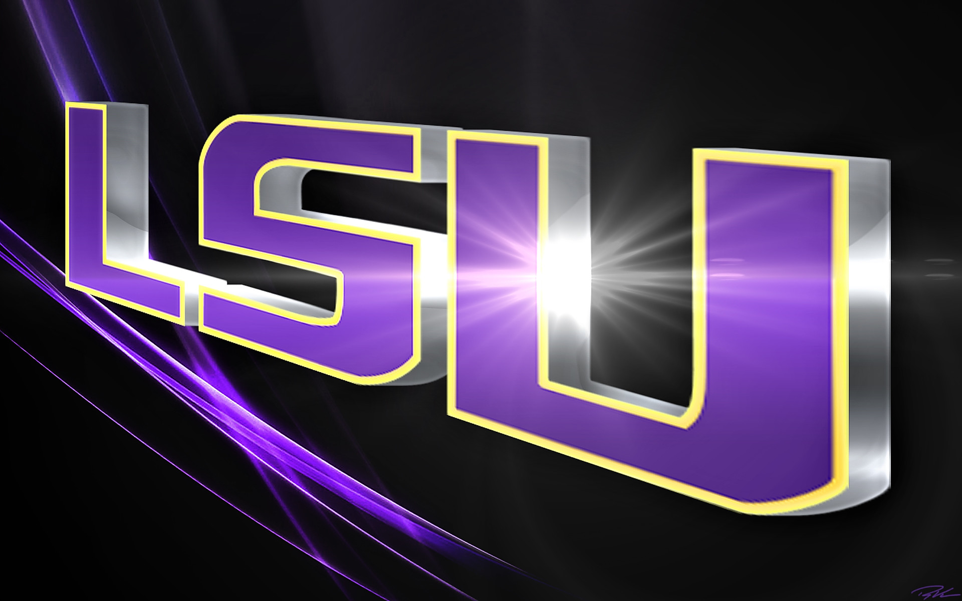 LSU Screensavers and Wallpaper (47+ images)