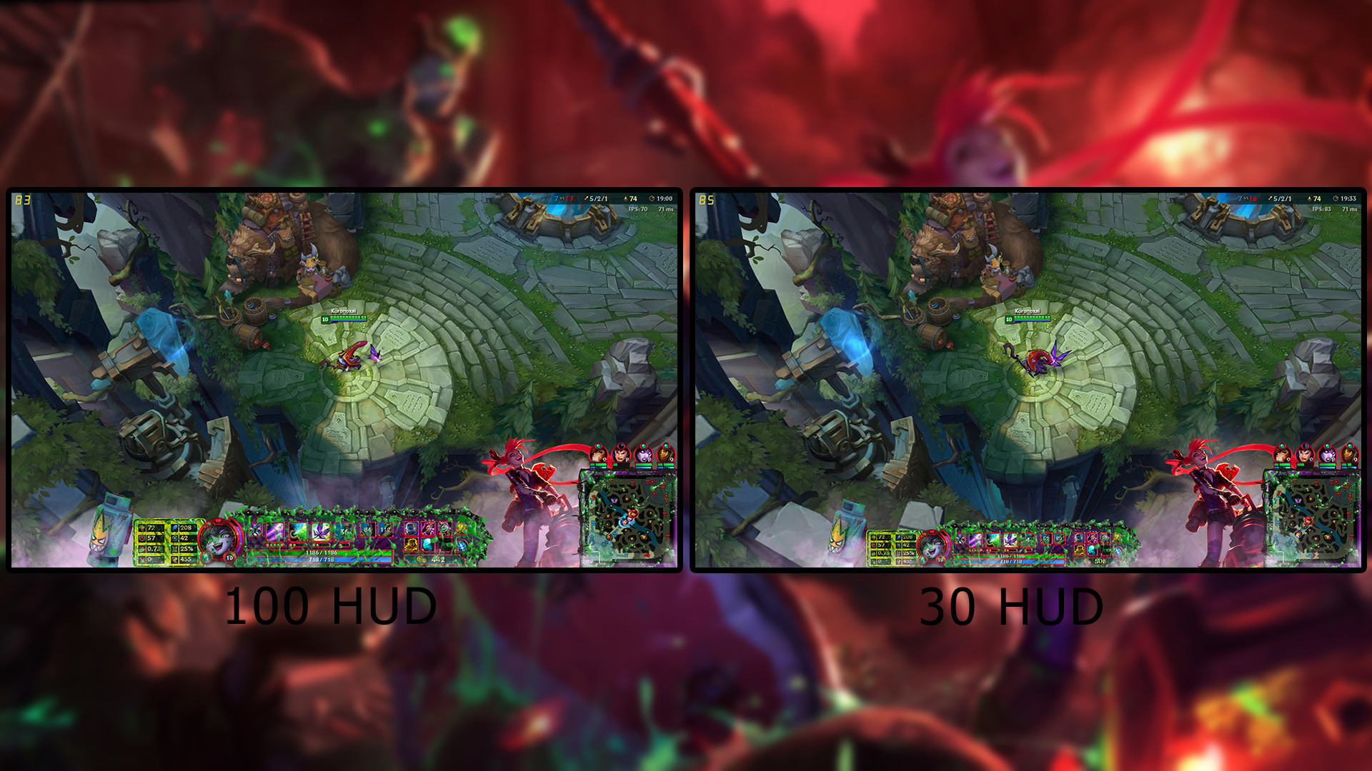 1920x1080 ... Slayer Jinx Stream Overlay FREE by Analy-Aranda