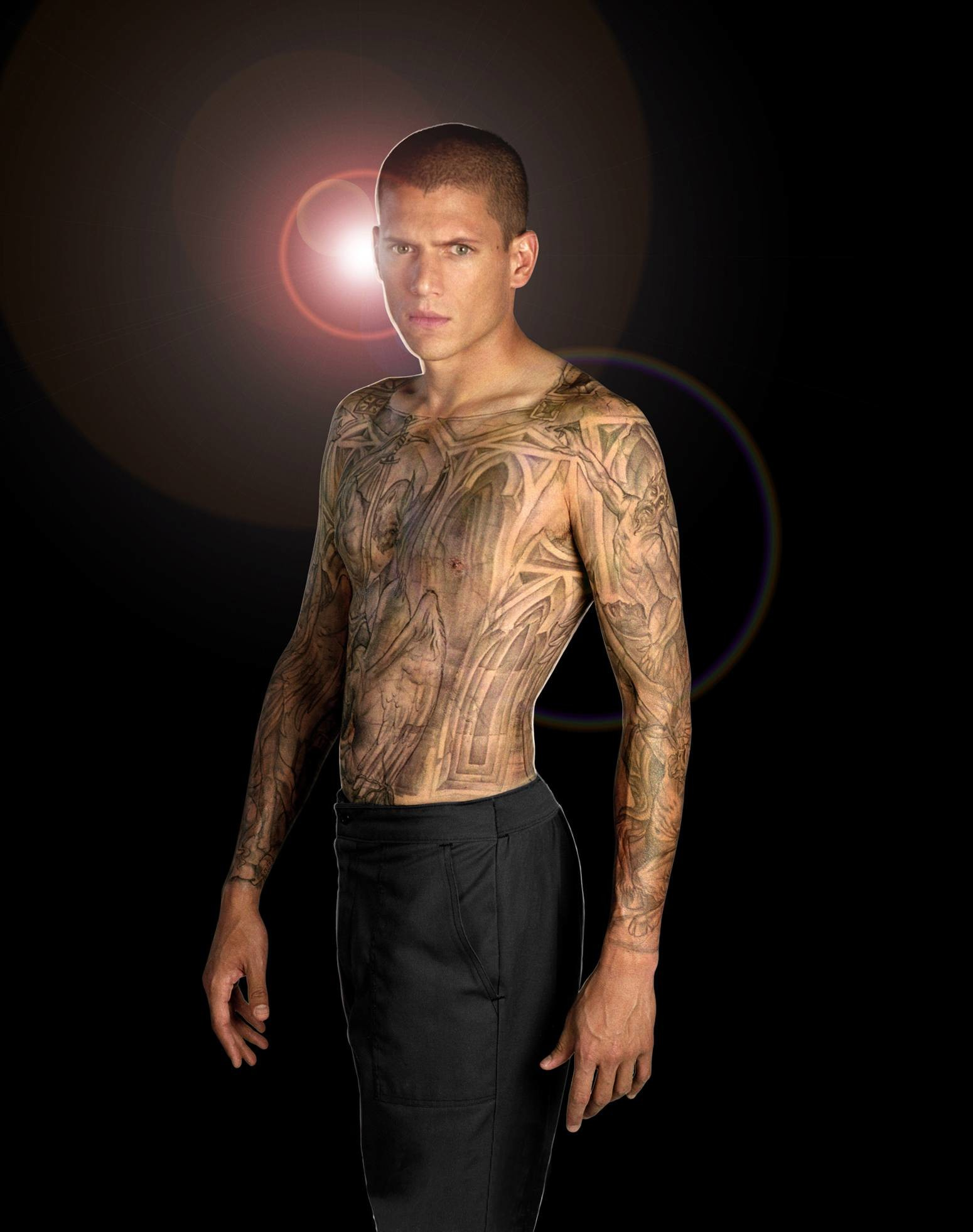1550x1962 Tattoos wentworth miller prison break michael scofield wallpaper .