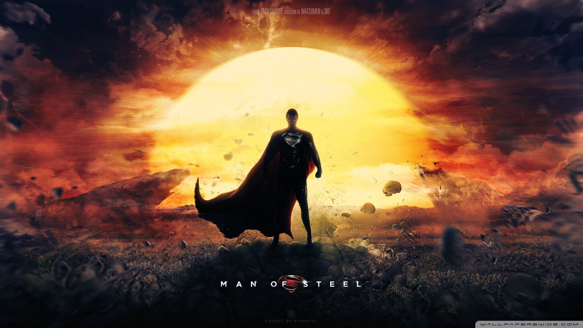 1920x1080 Man Of Steel Wallpaper Superman Movie HD Wide Wallpaper for 4K UHD  Widescreen desktop & smartphone