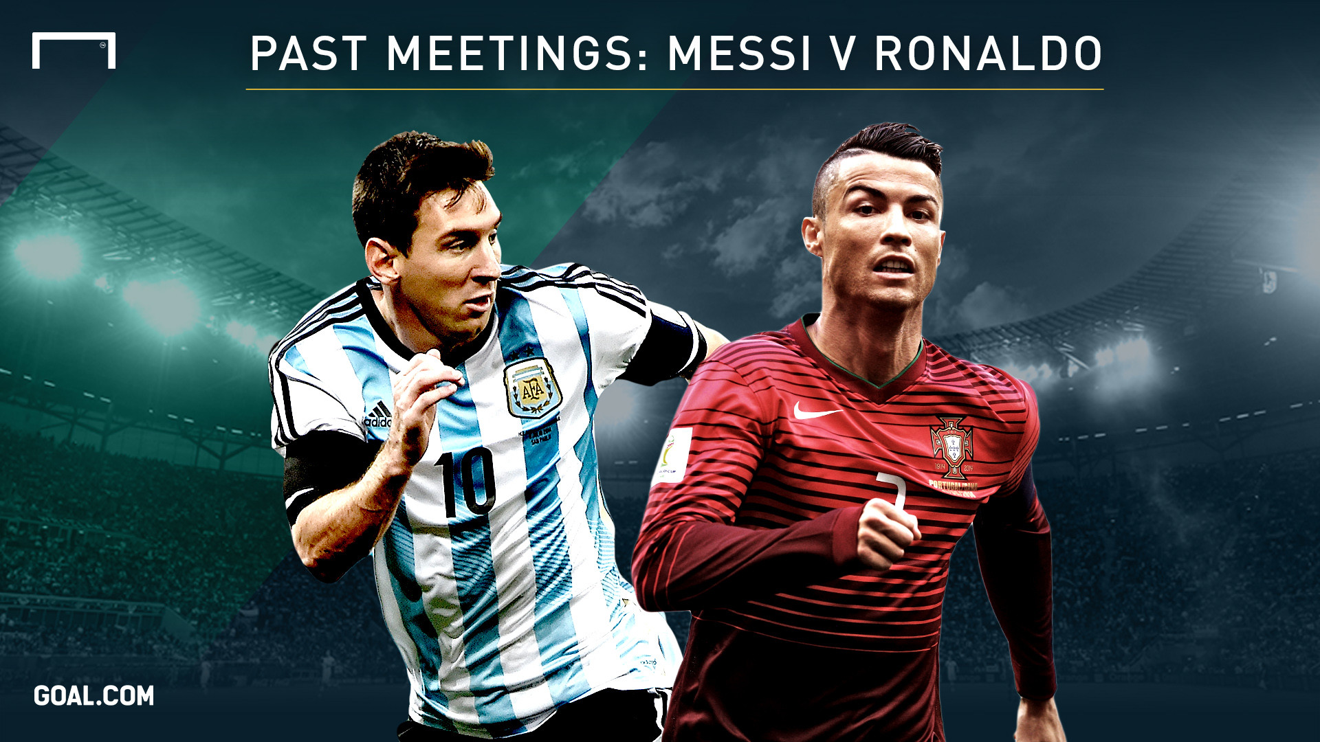 messi vs ronaldo full hd wallpaper
