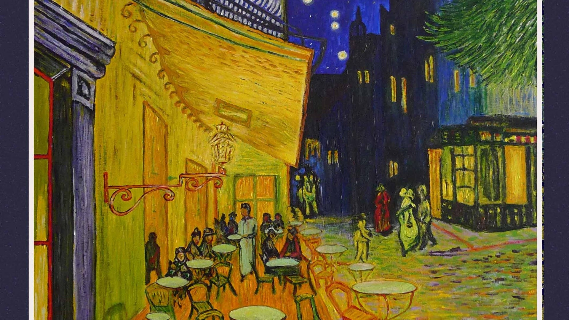 van gogh the night cafe wallpapers (47+ images)