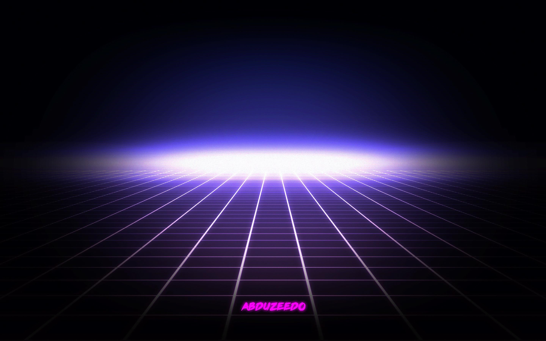 1920x1080 80s Grid Background Laser 6308