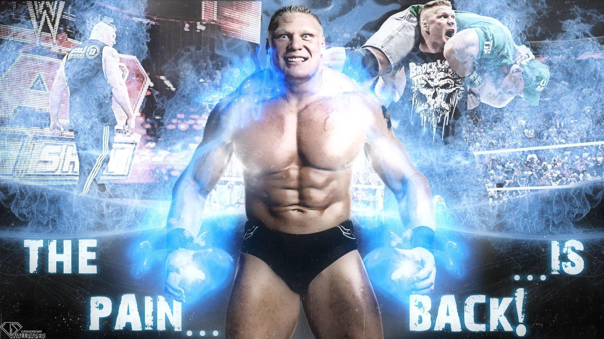 1920x1080 Brock Lesnar Hd Background 12