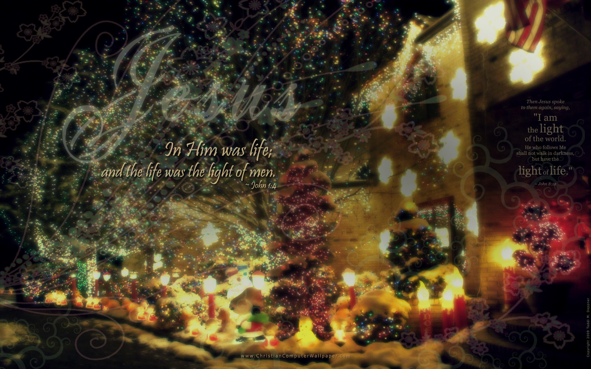 1920x1200 Christian Computer Wallpaper – Desktop Wallpapers » Christmas