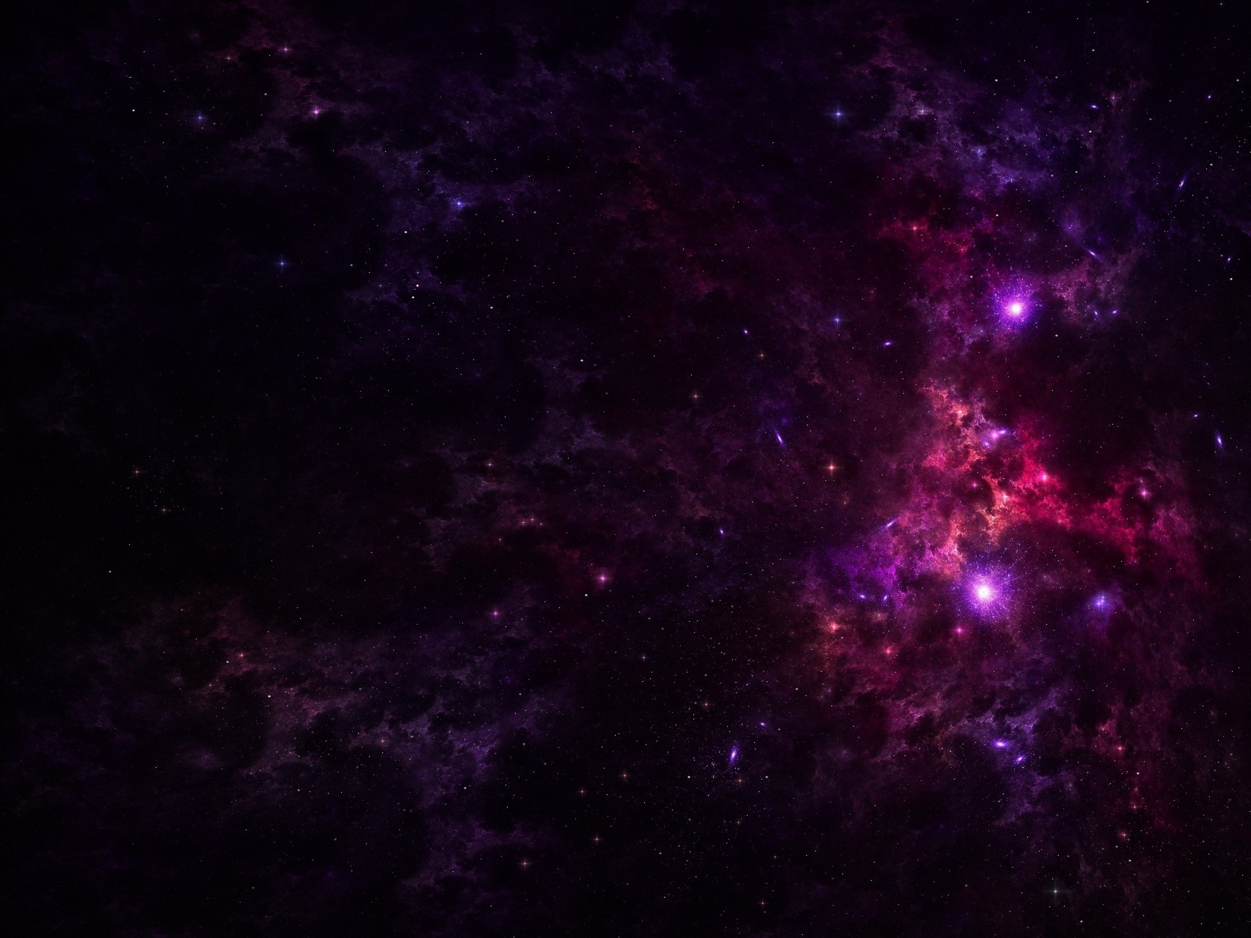 2560x1920 Purple Outer Space & Stars wallpapers and stock photos