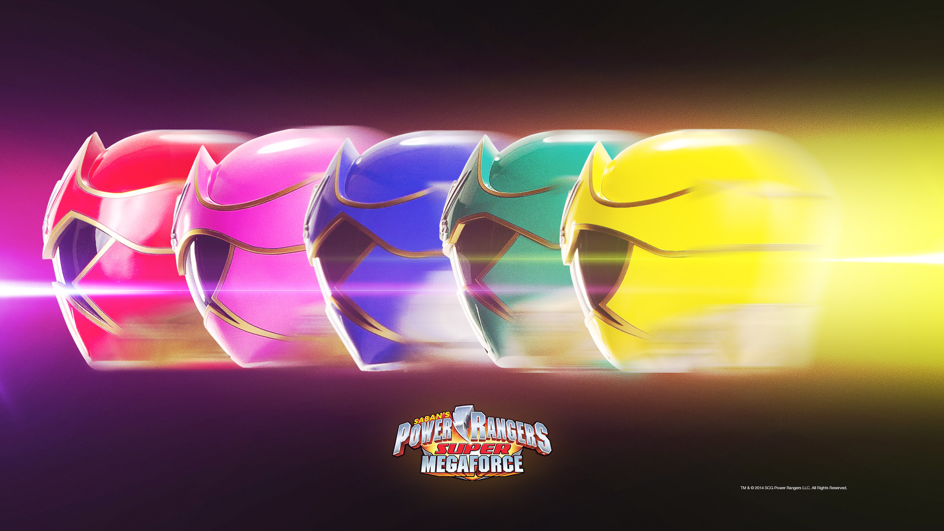 1920x1080 Super Megaforce Streak Desktop Wallpaper