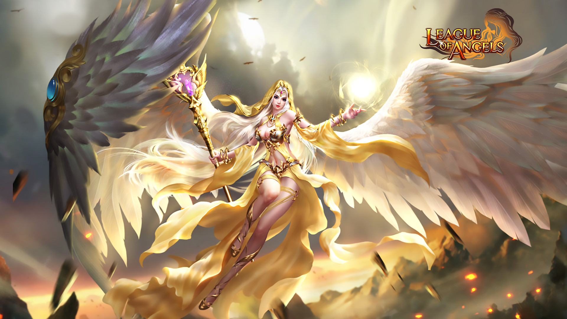 League of Angels Wallpaper (78+ images)  League of Angel...
