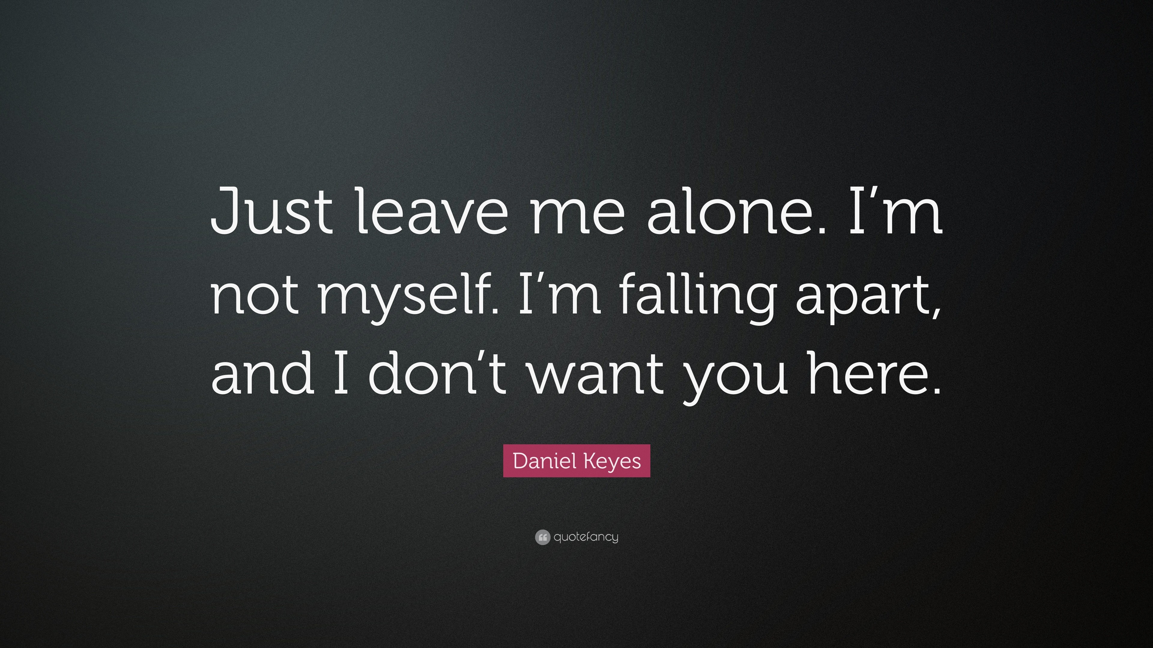 Leave Me Alone Wallpaper (64+ Images