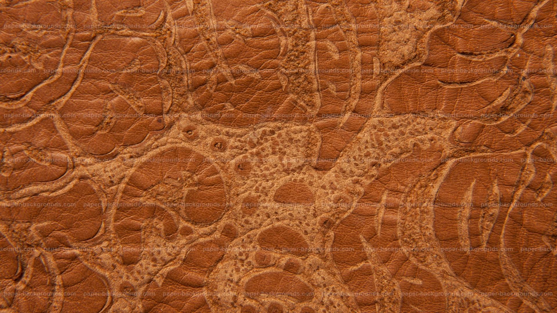 1920x1080 Brown Grunge Embossed Leather Texture HD 1920 x 1080p