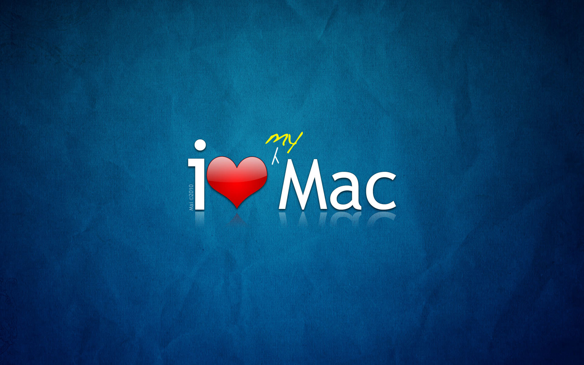 1920x1200 mac wallpaper. I Love MAC