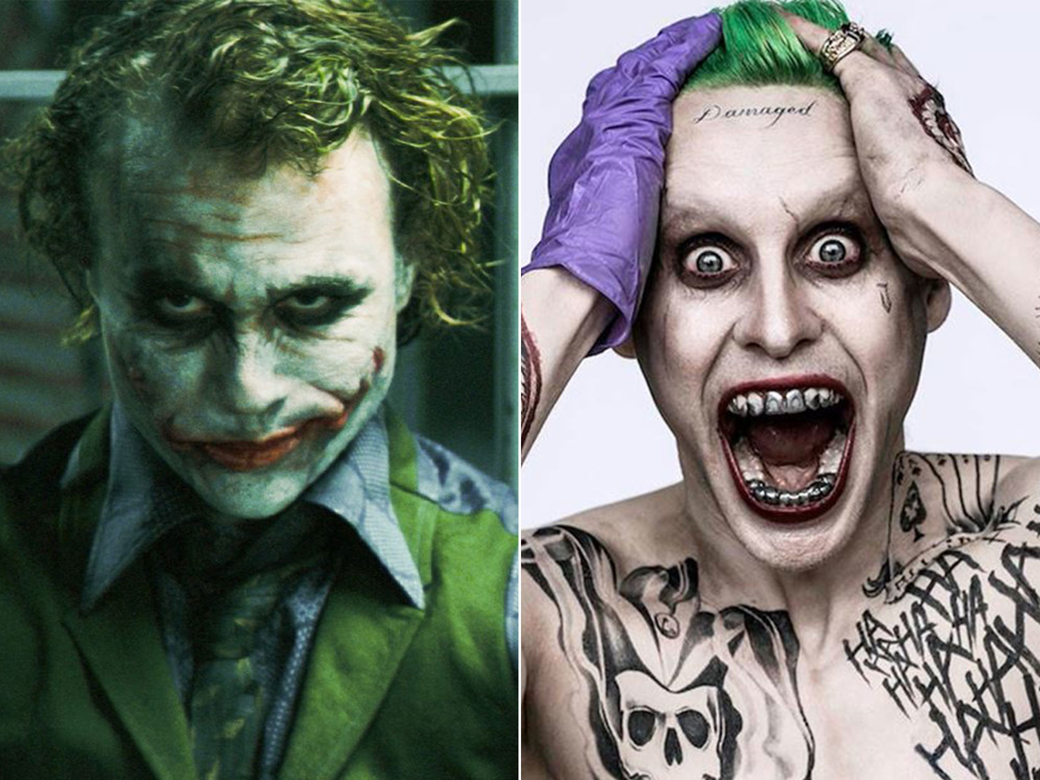 2048x1536 Jared Leto as Joker: Suicide Squad trailer sparks comparisons with Heath  Ledger | The Independent