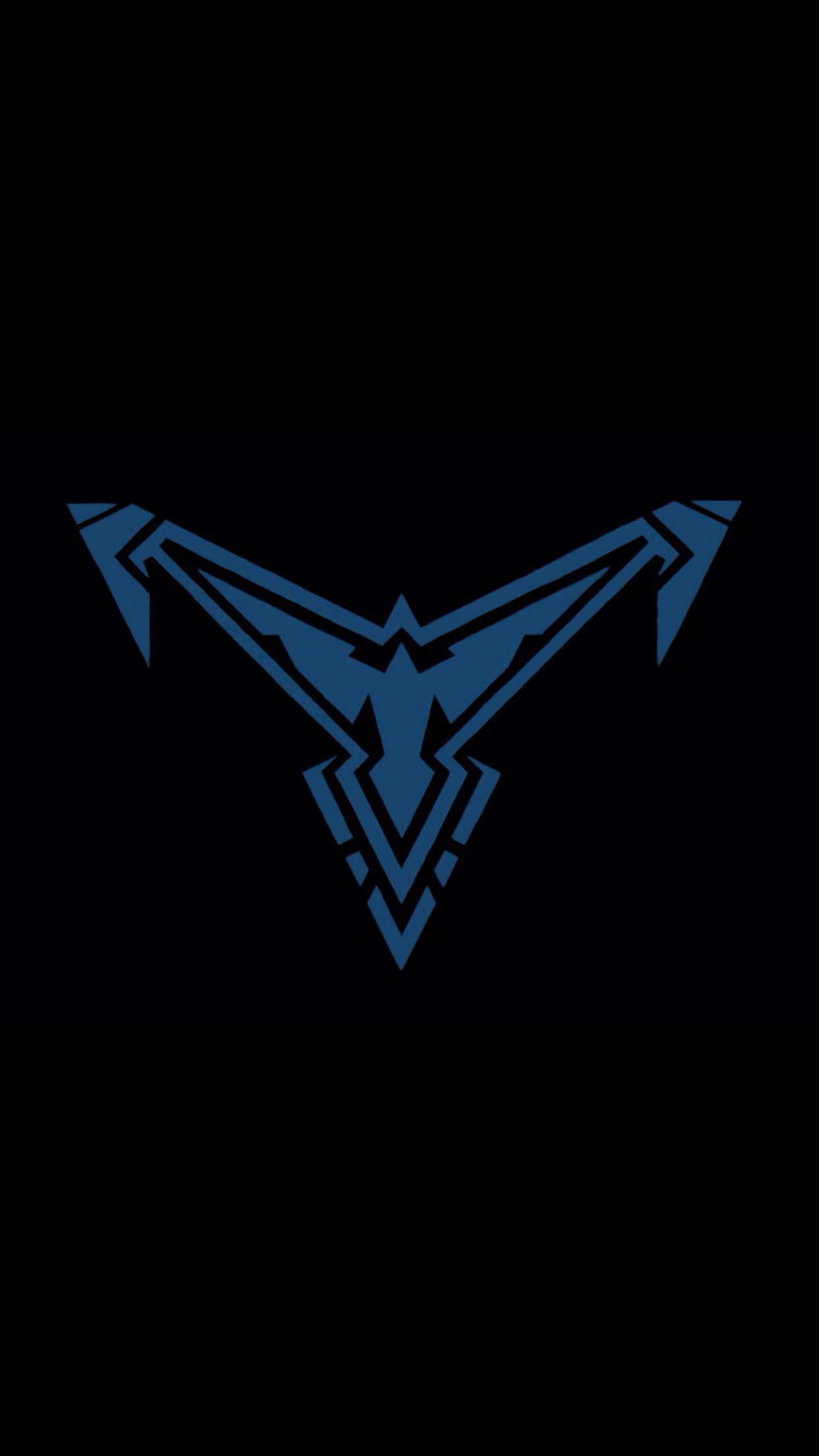 1242x2208 New Nightwing logo