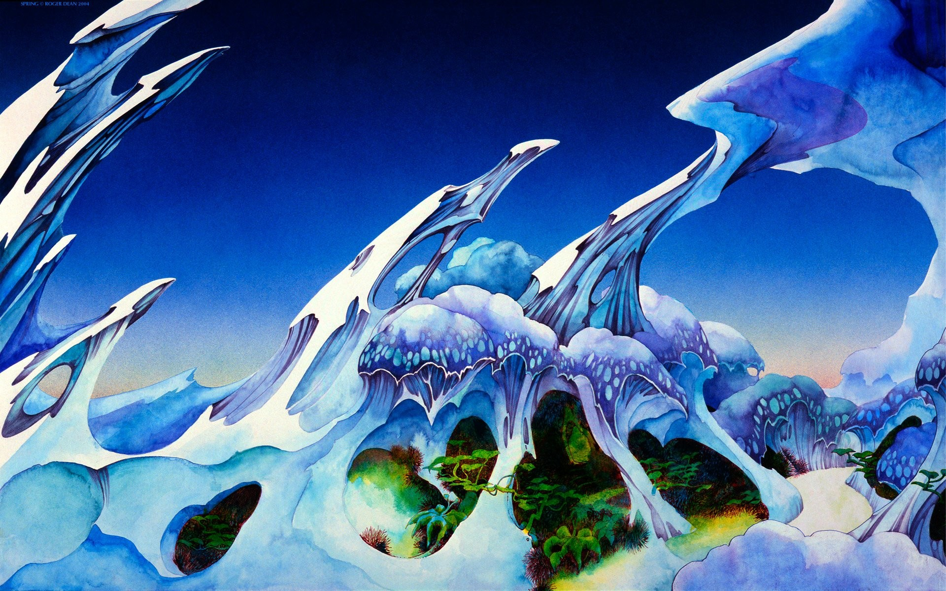 1920x1200 Wallpapers Roger Dean High Quality And Resolution Ii  .