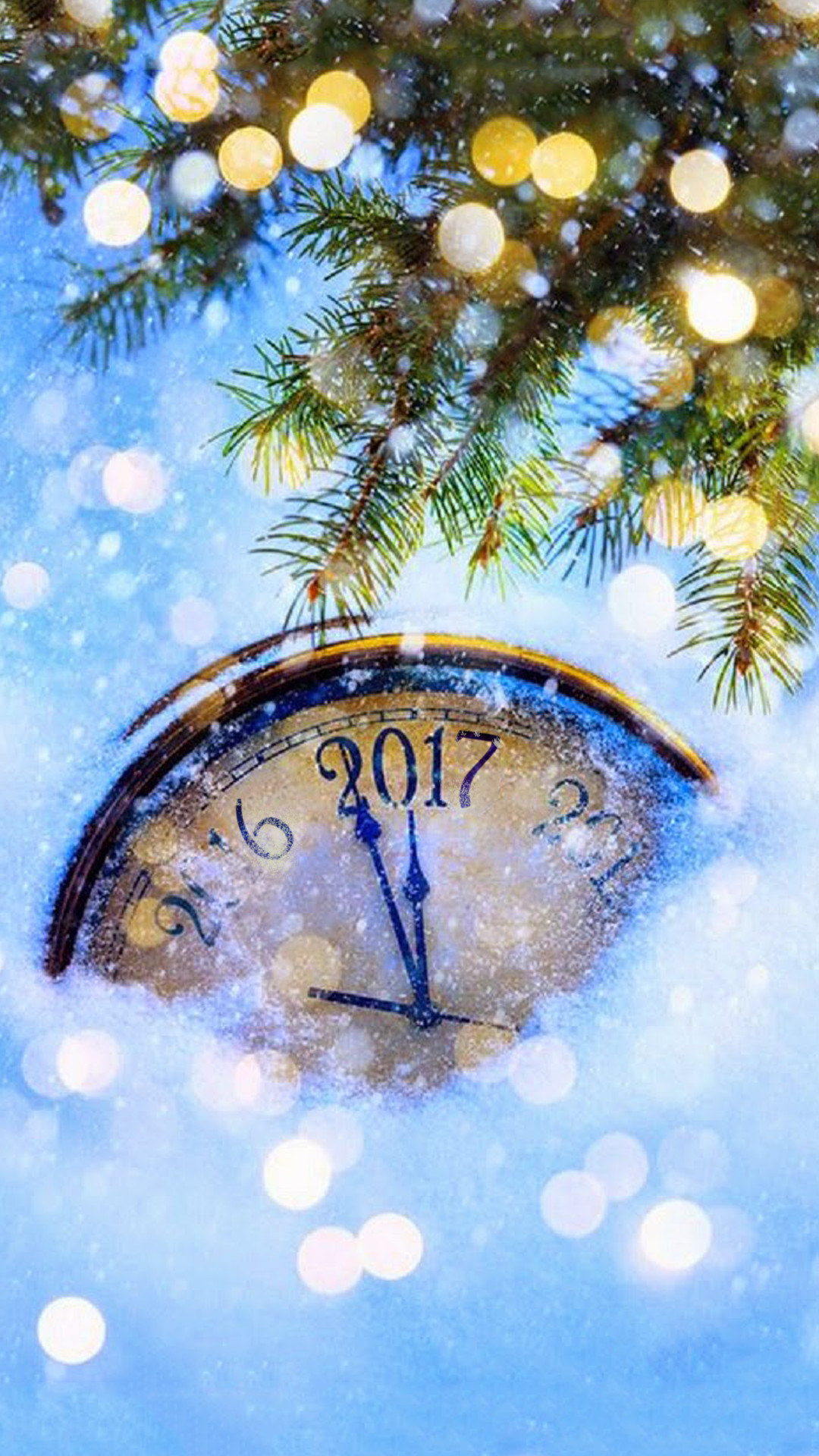 1080x1920 new year wallpaper phone 2017 holidays christmas iphone