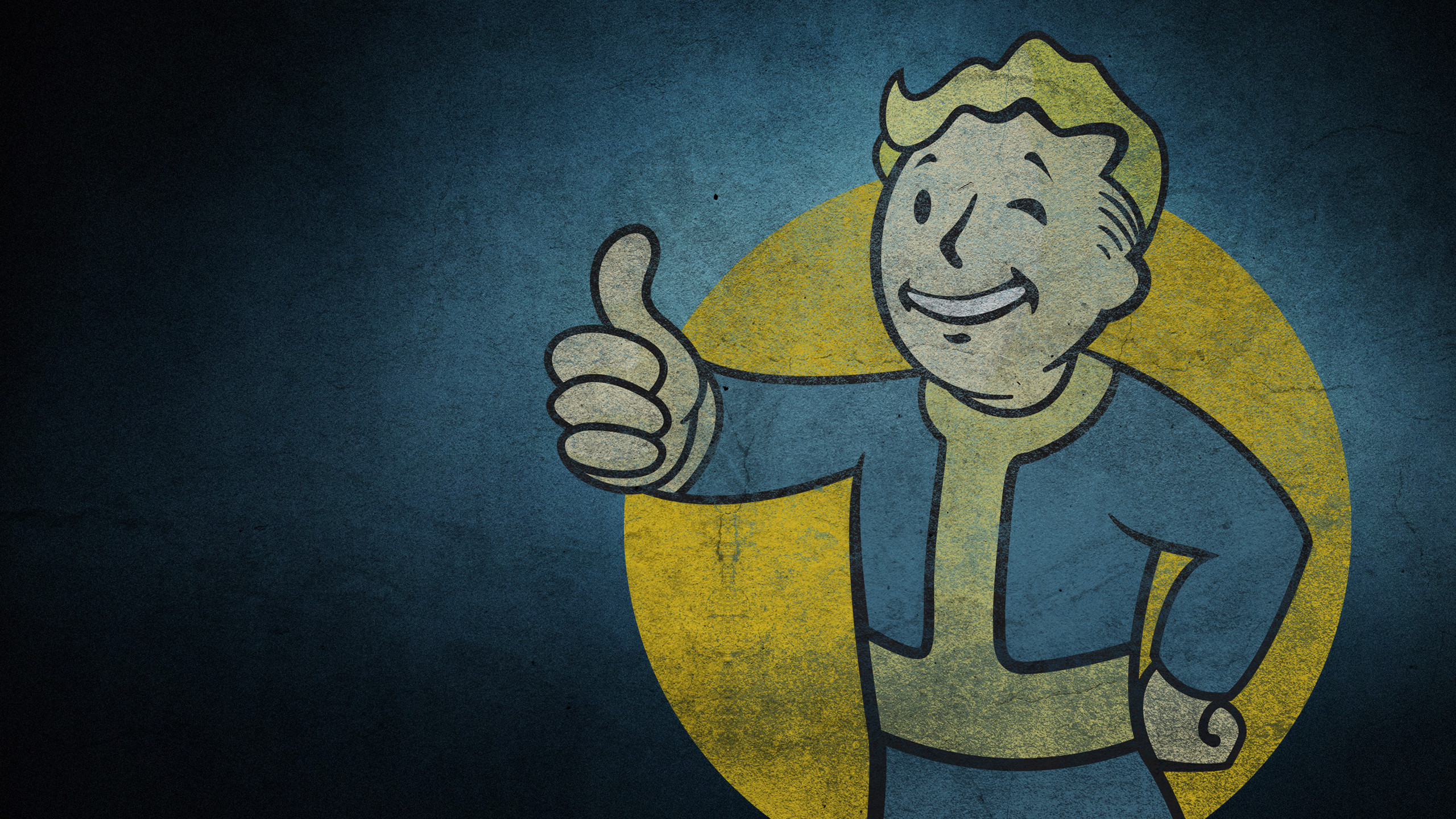 2560x1440 Vault Boy · HD Wallpaper | Background Image ID:893453.  Video Game Fallout  4