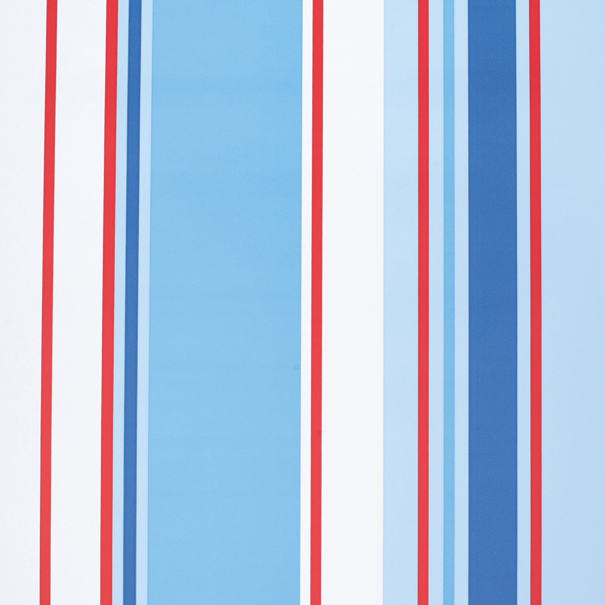 2000x2000 Holden Décor Paige Blue, Red & White Stripe Wallpaper