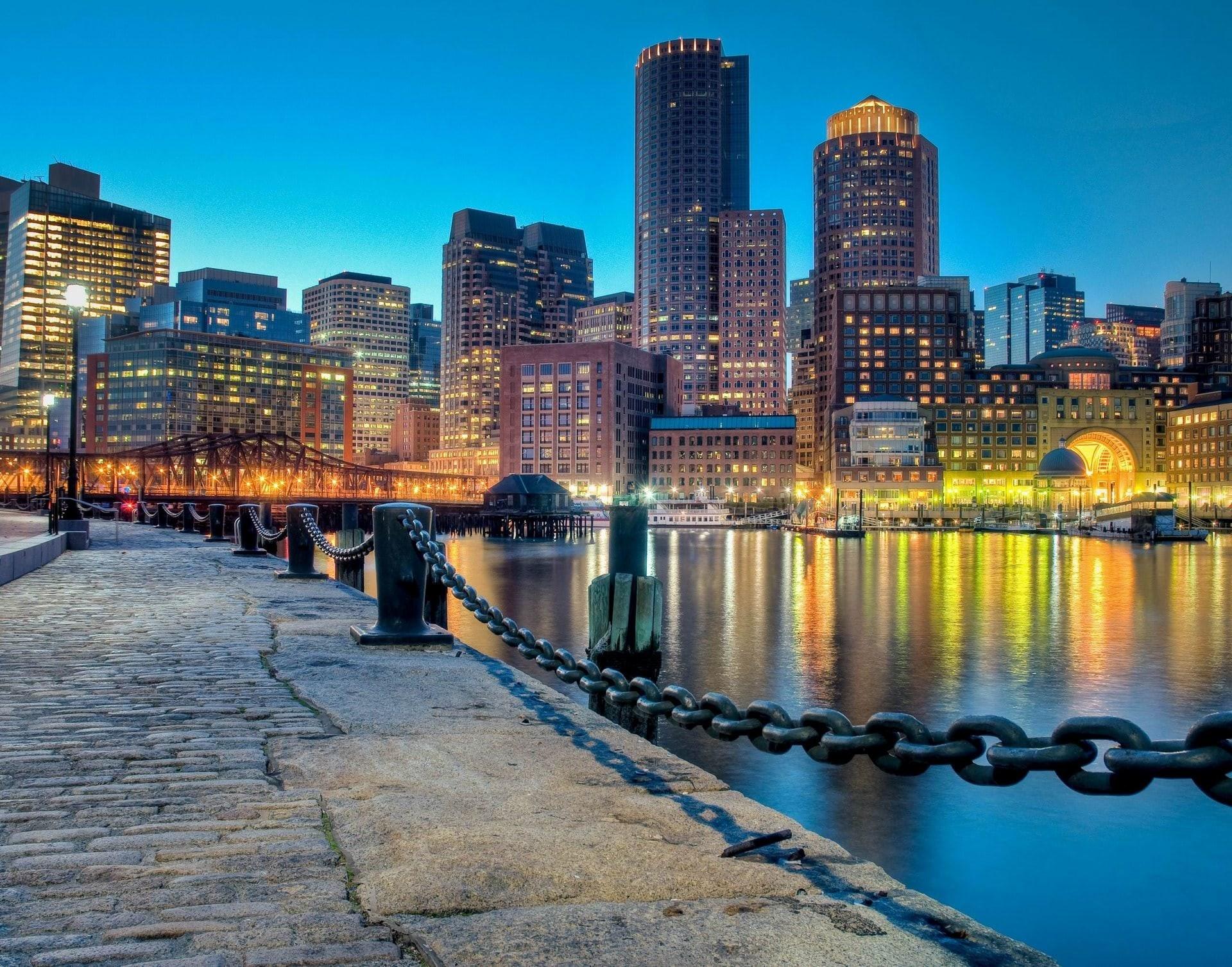 Boston Skyline Wallpaper 62 images