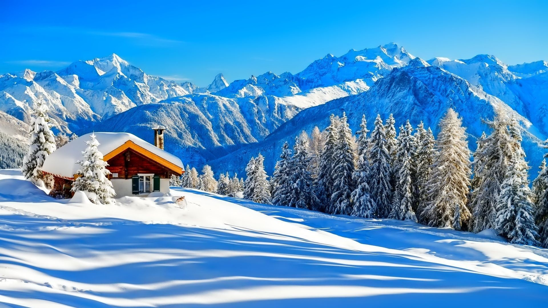 1920x1080 Cabin Tag wallpapers Page 5: Beautiful Mountain Cabin Winter .