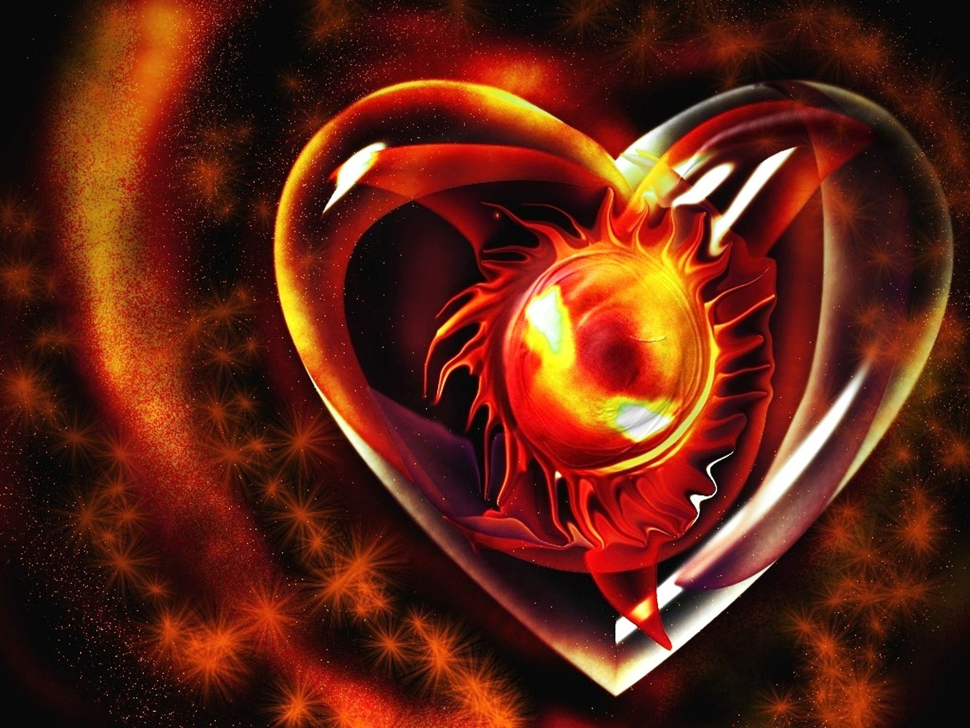 1920x1440 Sky HD Wallpapers Provides awesome collection of high definition Fire Heart  Pictures High Quality Photos Desktop Backgrounds Wallpapers, pictures, ...