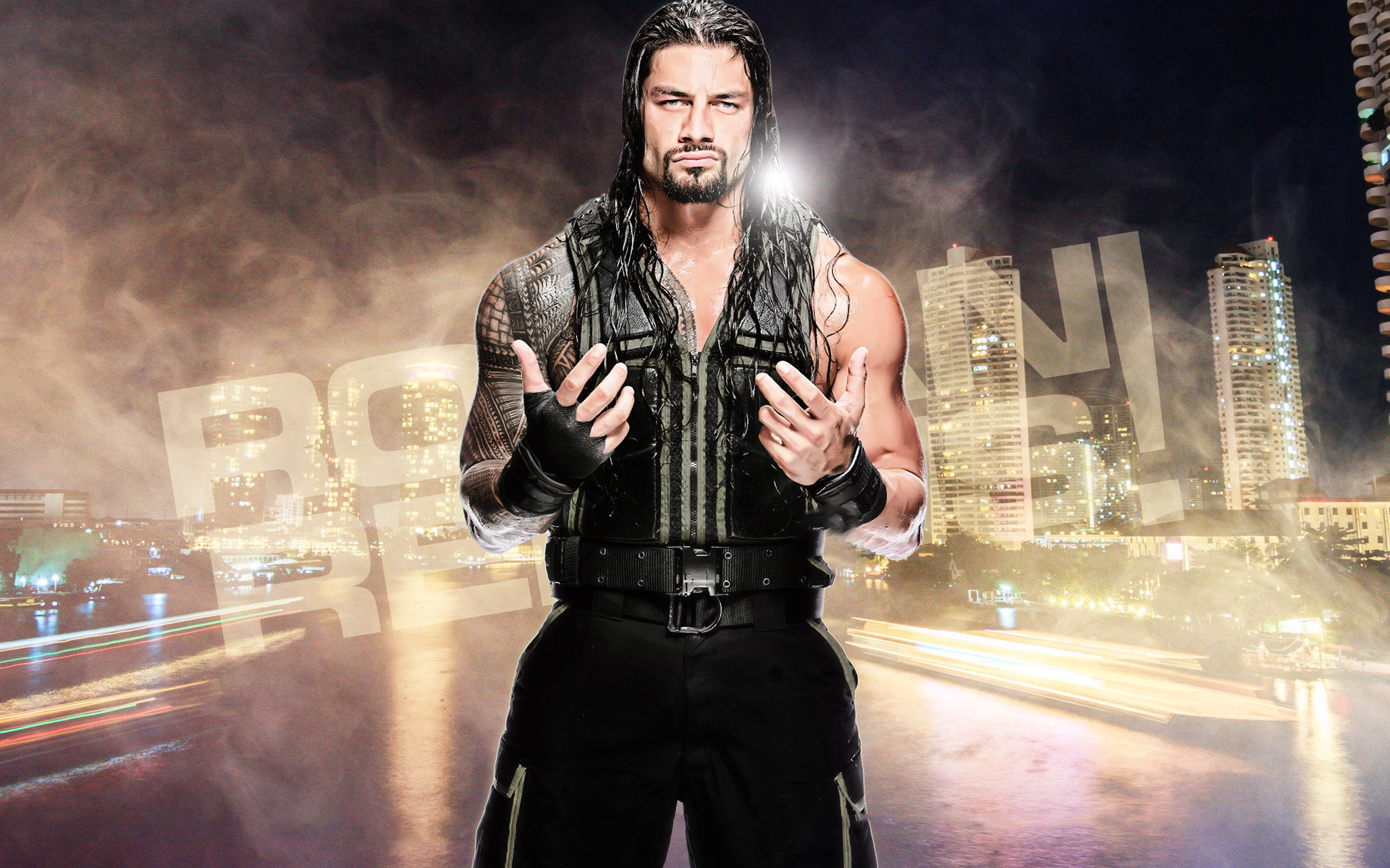 1920x1200 Free Download WWE Roman Reigns HD Wallpaper 2016
