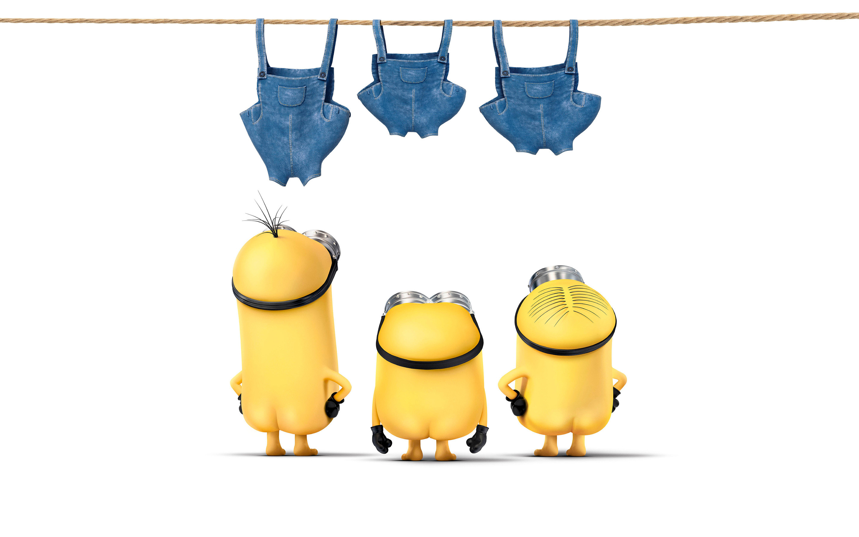 2880x1800 Funny Minions Movie Desktop Wallpaper