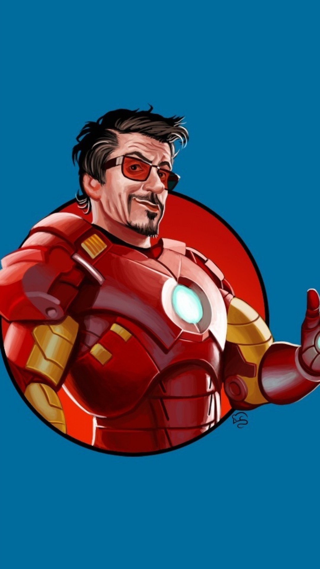 Res: 1080x1920, Tony Stark in Ironman suit. iPhone 7. Download 2