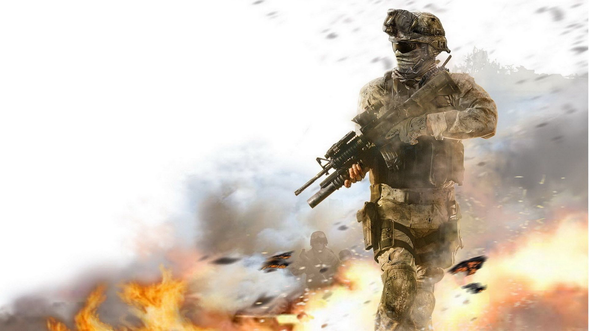 1920x1080 Marine With M4A1 Wallpapers Pictures