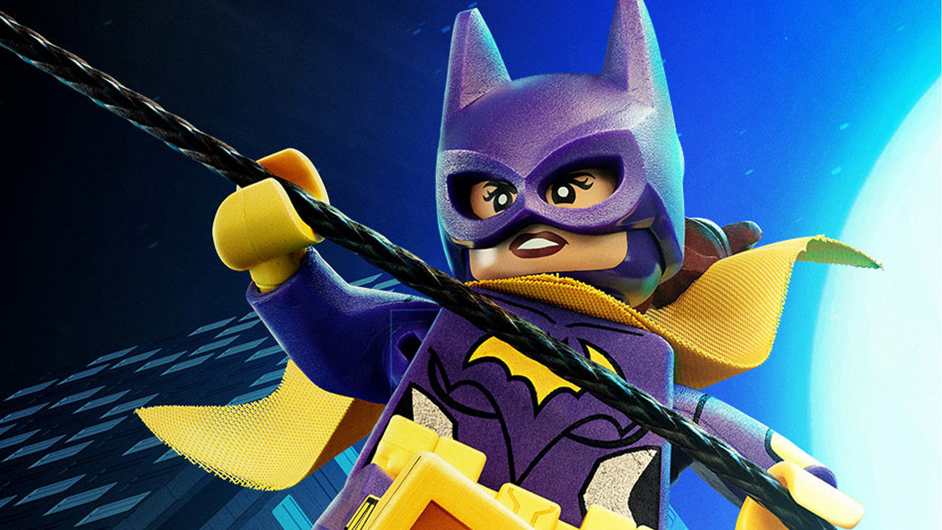 1920x1080 Batgirl isn't taking any of Batman's nonsense in this new TV spot for The  LEGO Batman Movie. Along with some hilarious jabs at Batman—we should all  call him ...