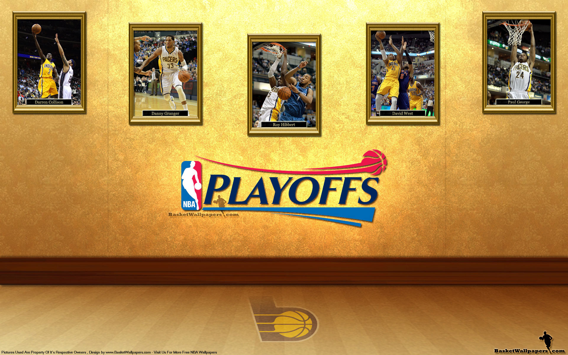1920x1200 Indiana Pacers See You In Playoffs 2012 Wallpaper