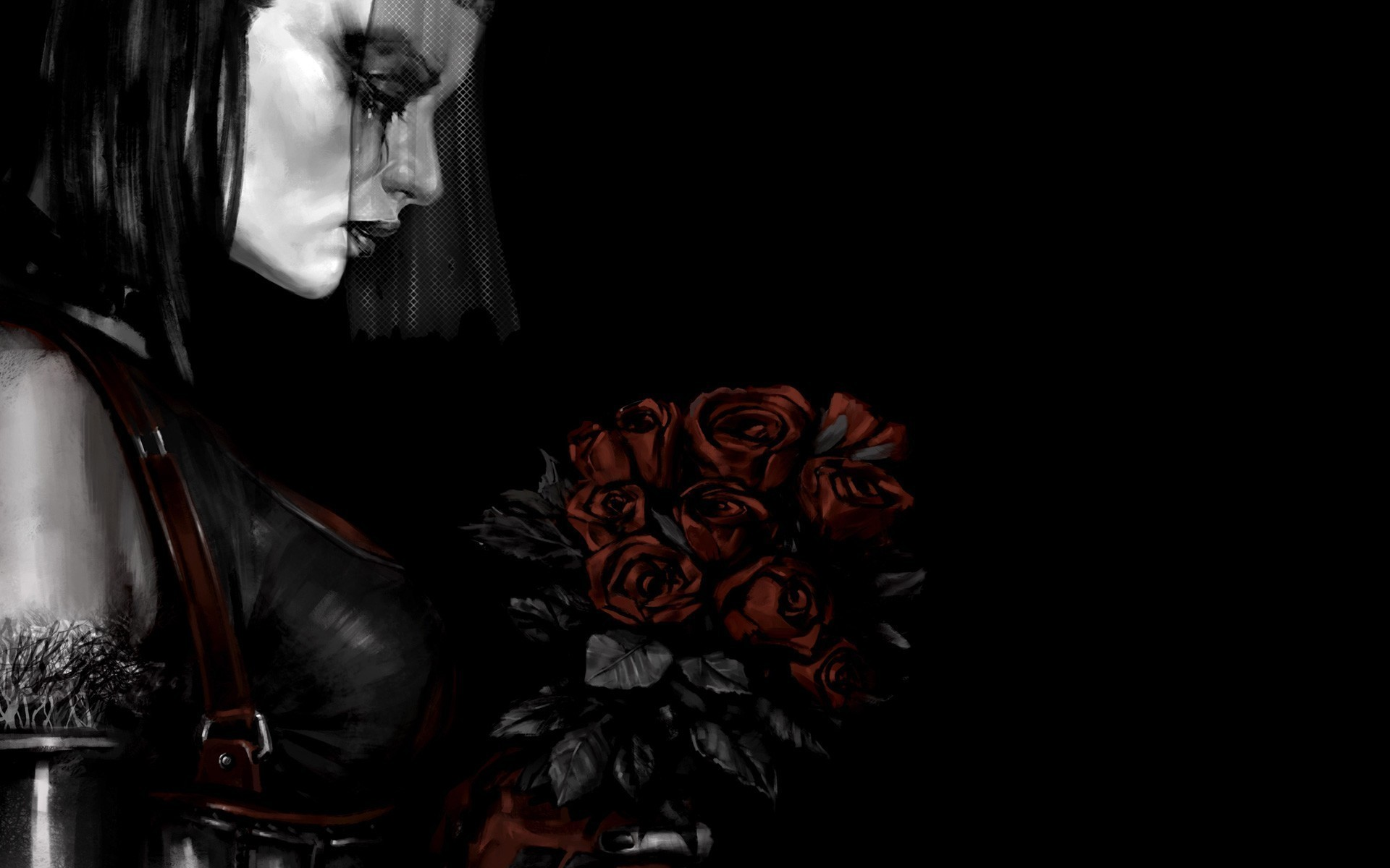 Gothic Roses Wallpaper 63 Images