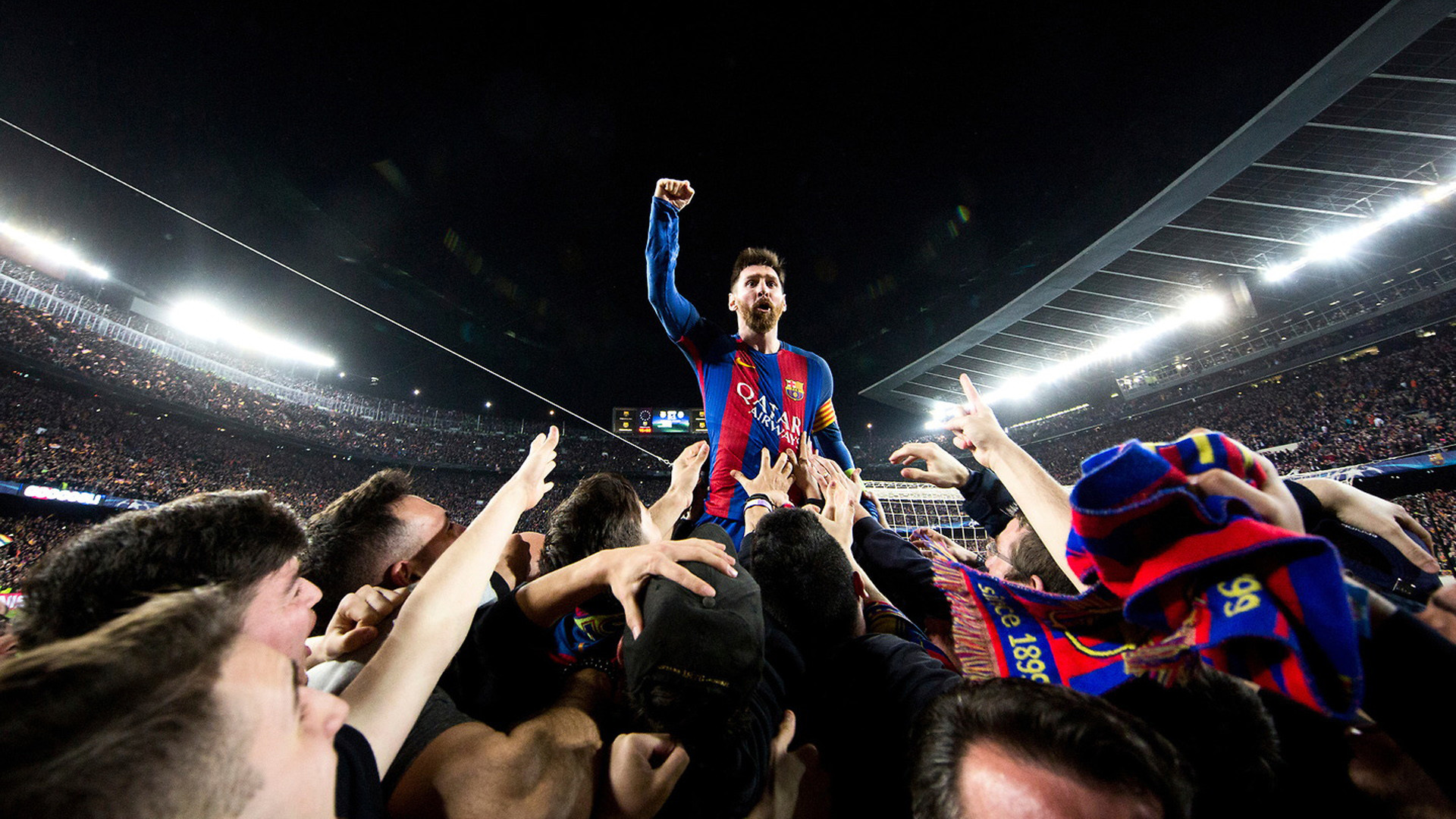 1920x1080 messi barcelona paris psg 6 1 champions wallpaper