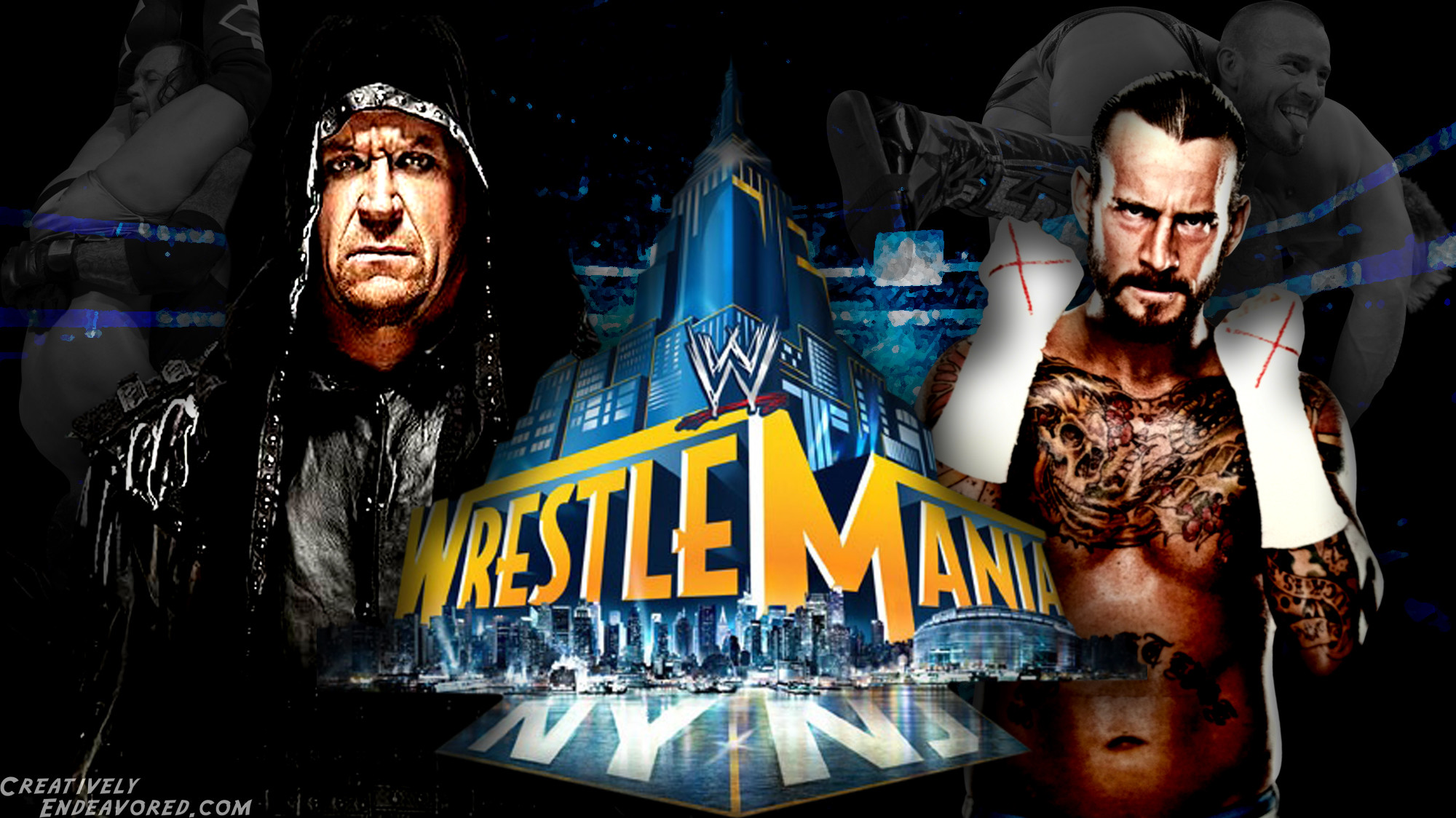 2000x1124 Undertaker vs CM Punk - WrestleMania 29