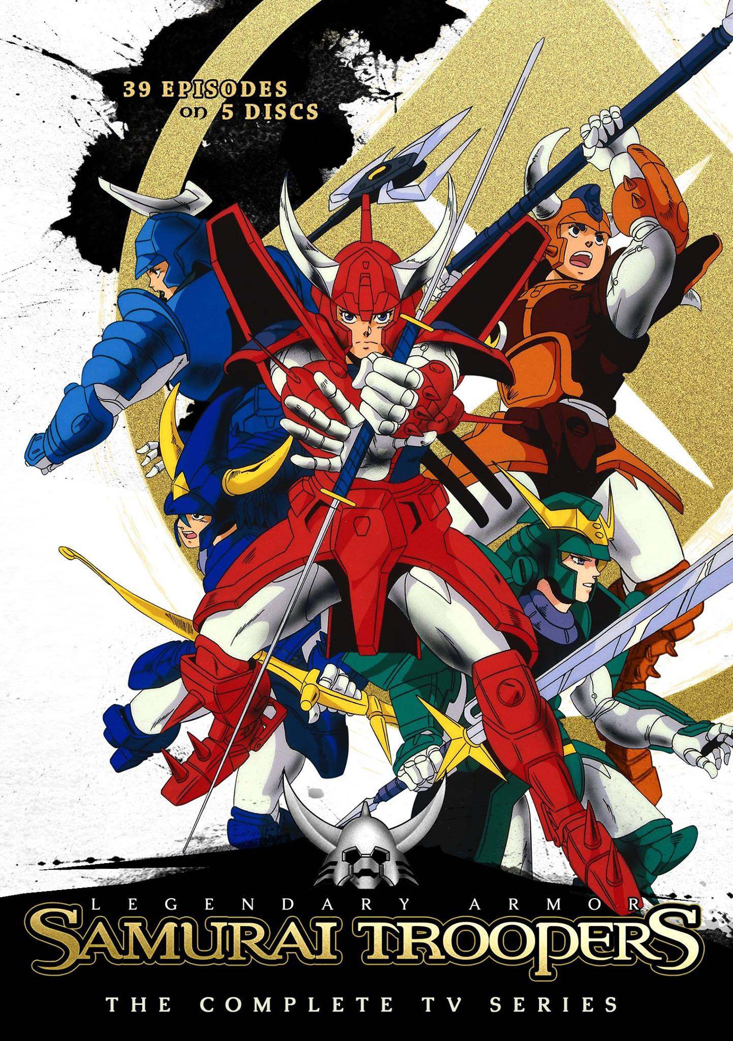 "1443x2048 ... confirmed that the Complete TV Series will be the Japanese Language  version with English subtitles. ""We are still working on clearing the Ronin  Warriors ..."