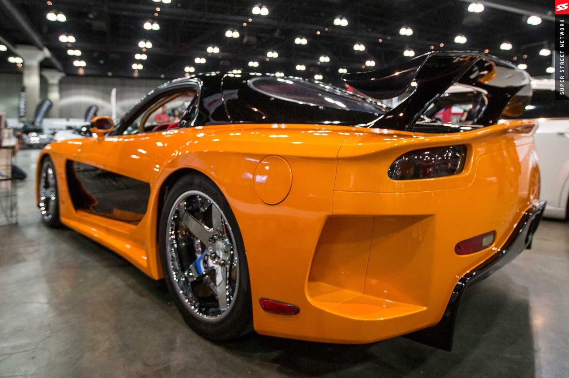 Mazda RX7 VeilSide JDM Side Crystal City Car  . Design Ideas