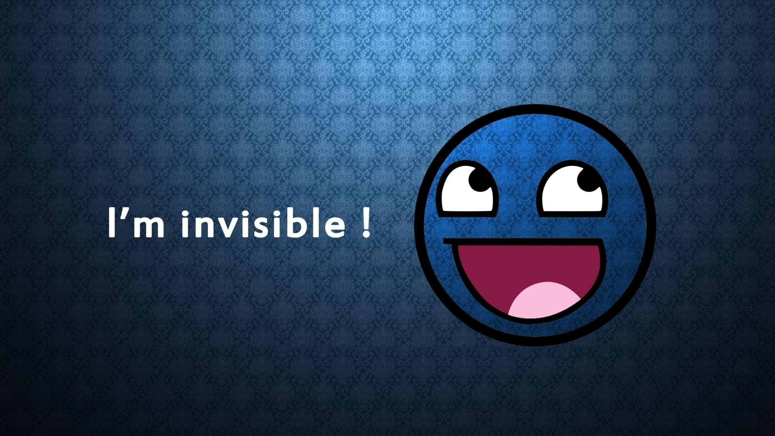 2560x1440 Invisible Awesome Face