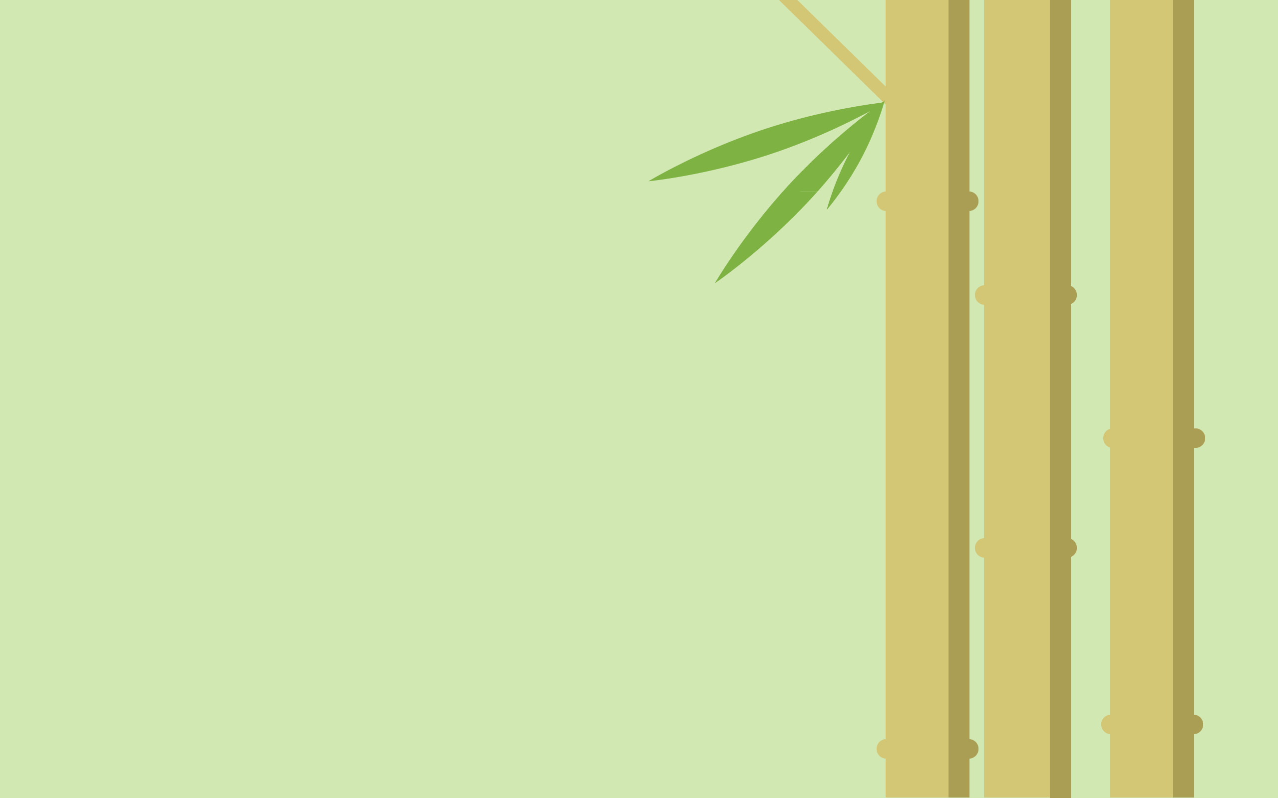 2560x1600 General  minimalism bamboo digital art simple background plants