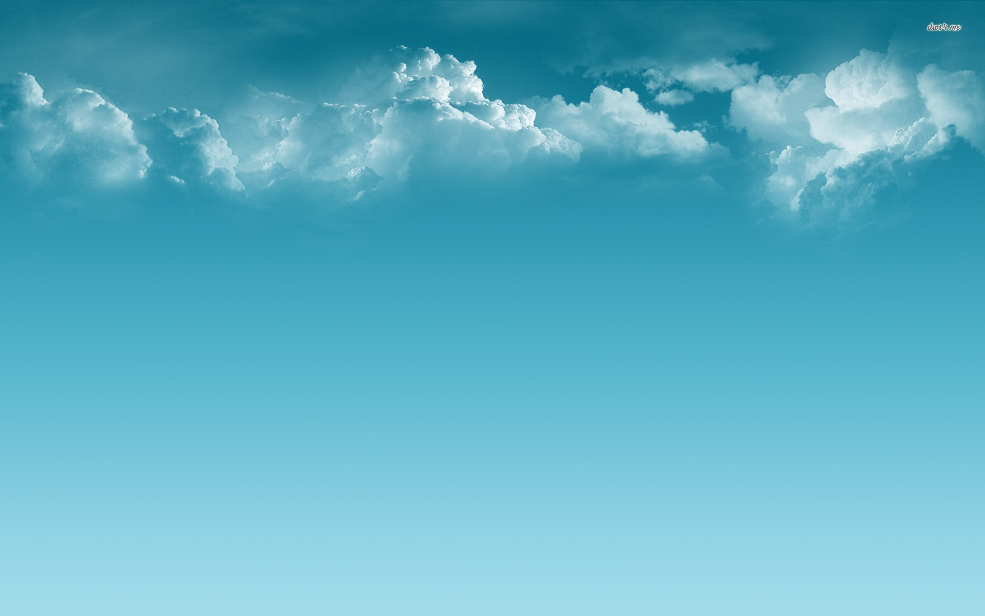1920x1200 Clouds and blue sky