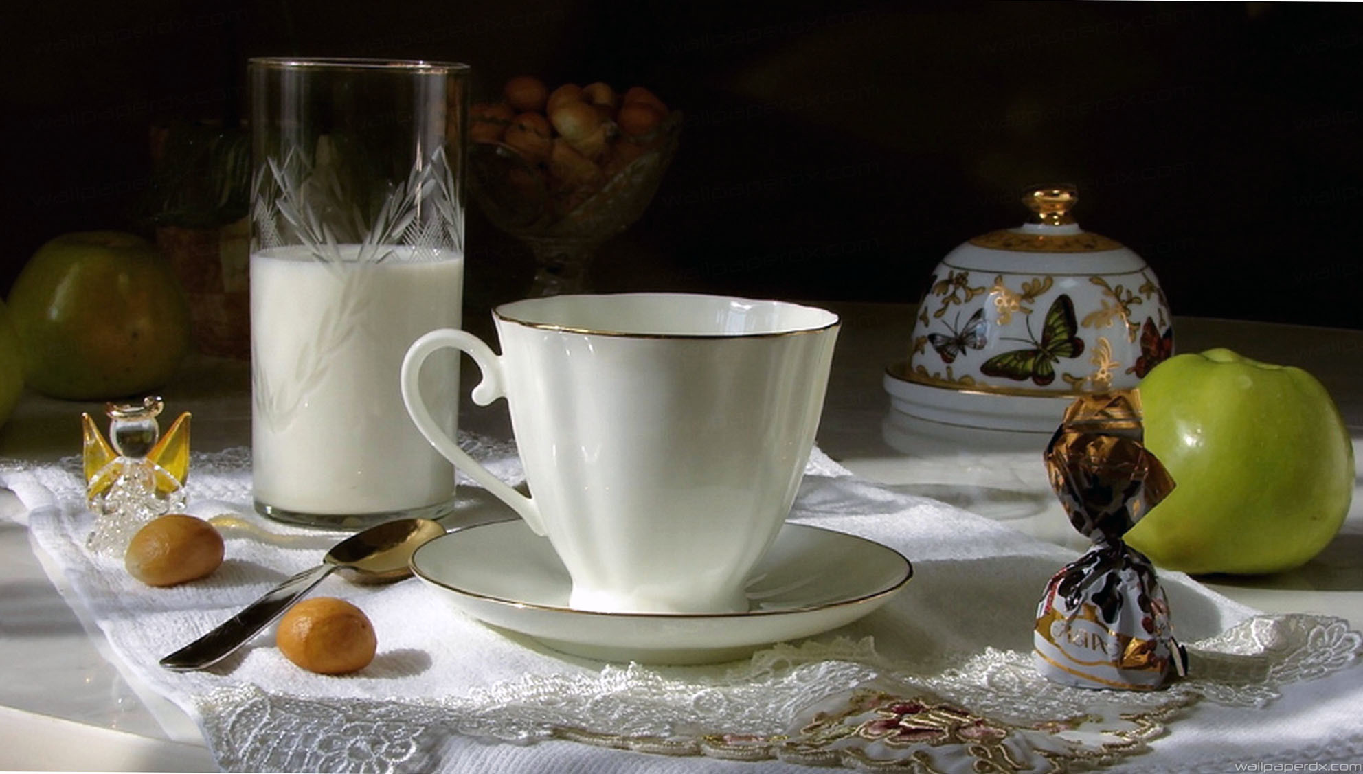 1984x1127 cup teapot candy tea drinking hd wallpaper - wallpaperdx .