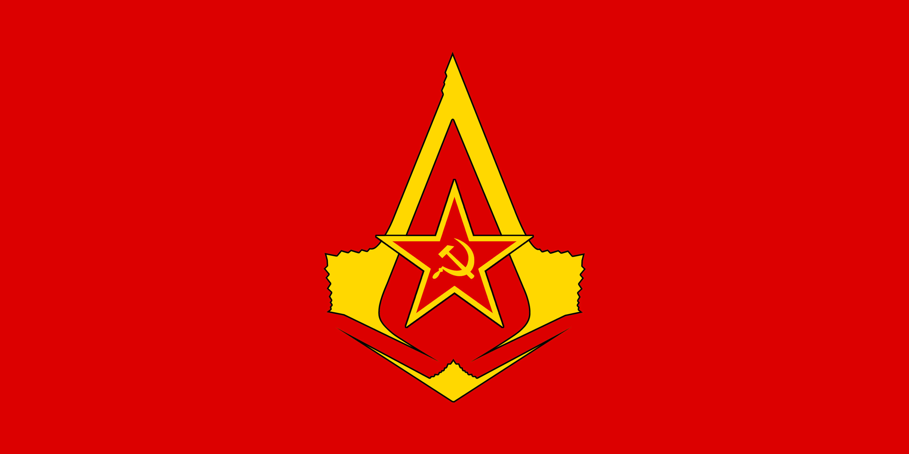 3000x1500 ... Flag of the Soviet Assassins by RedRich1917