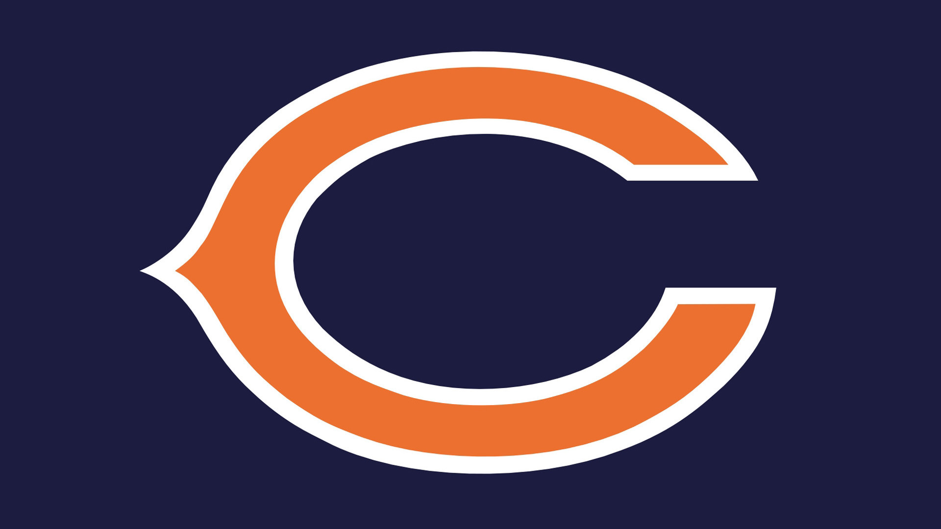 1920x1080 Chicago Bears Logo Wallpaper | WallpaperUniversity.com :: Chicago Bears Logo  – NFL Background