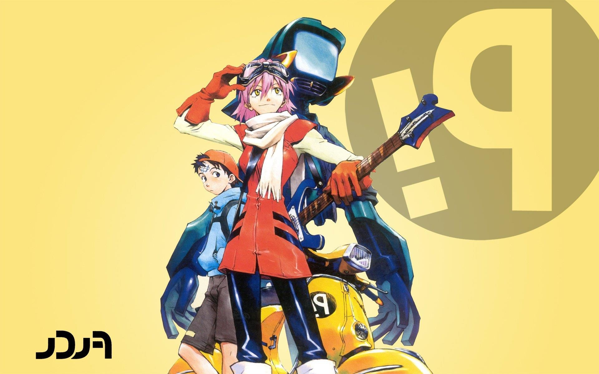 1920x1200 Backgrounds flcl fooly cooly haruhara haruko