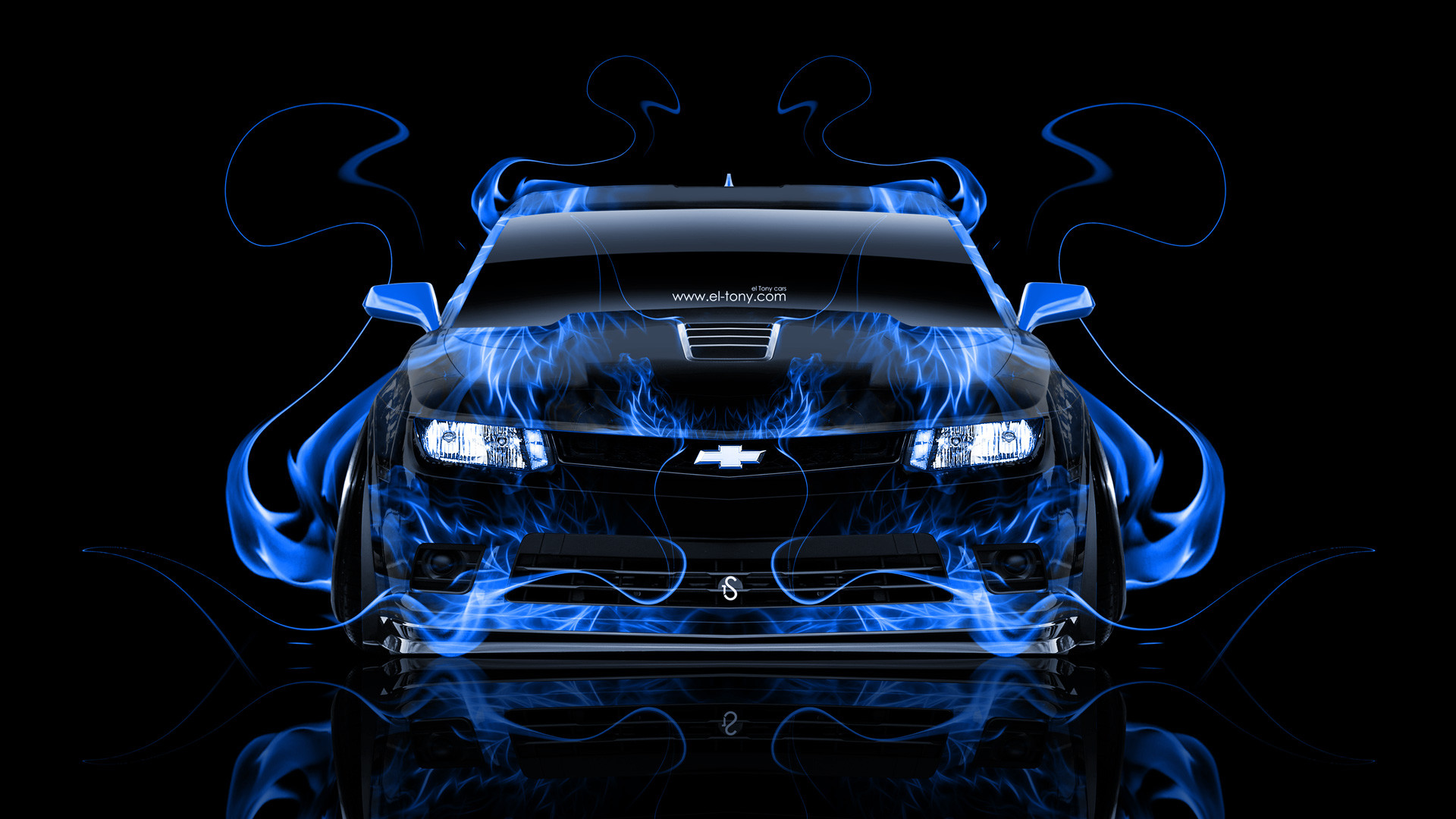 Blue chevy logo wallpaper