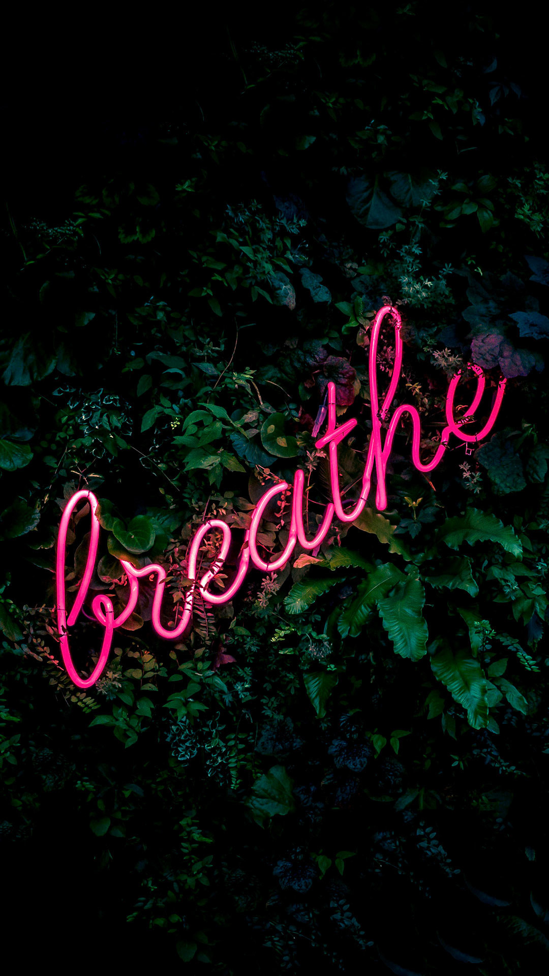 1080x1920  iPhone wallpaper neon sign breathe Neon Sign. 77 · Download ·  Res: 1920x1080 ...