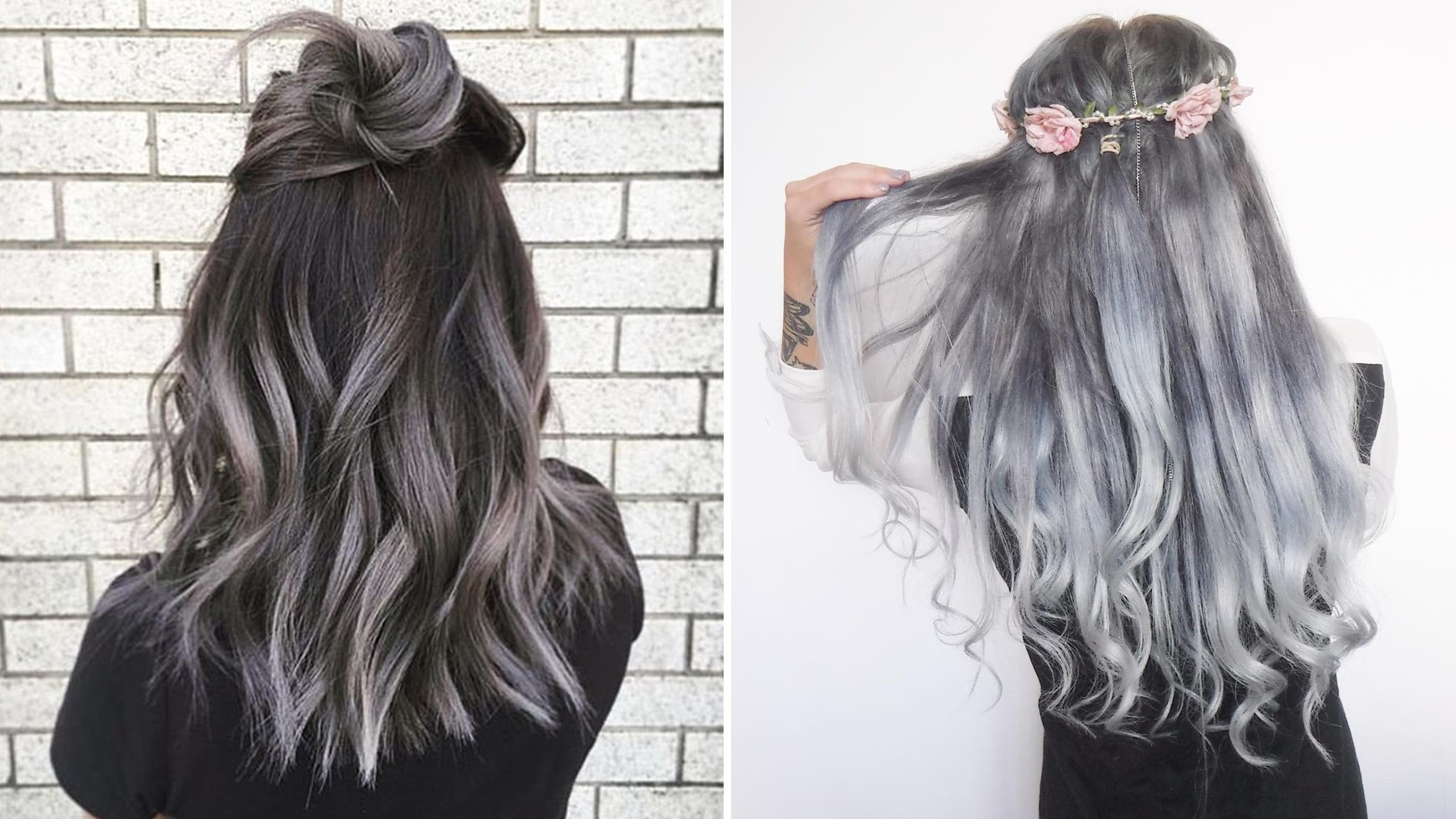 2352x1323 The Gray Hair Trend: 32 Instagram-Worthy Gray Ombré Hairstyles