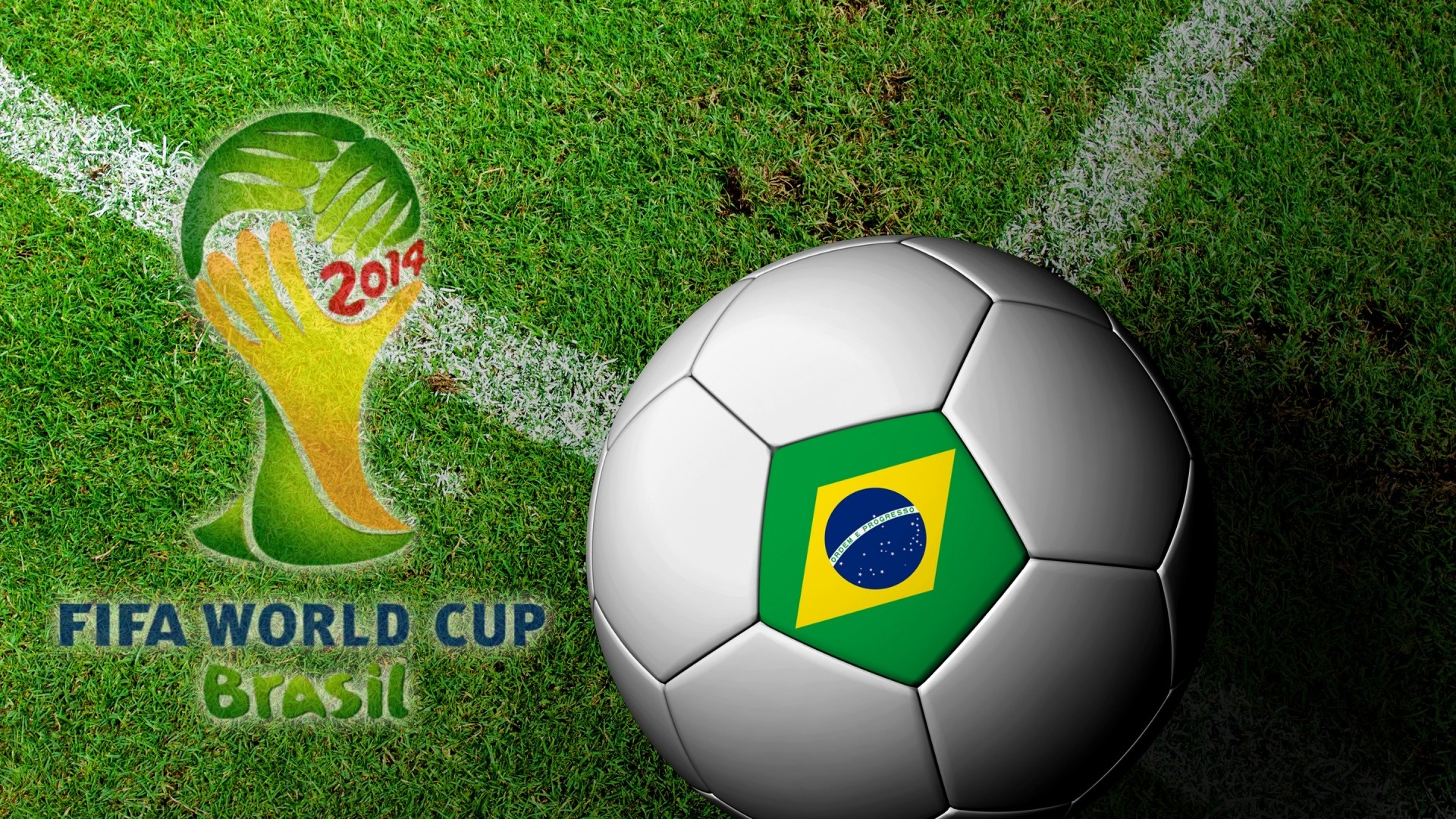 1920x1080  Wallpaper brasil, fifa, world cup, 2014, football, ball