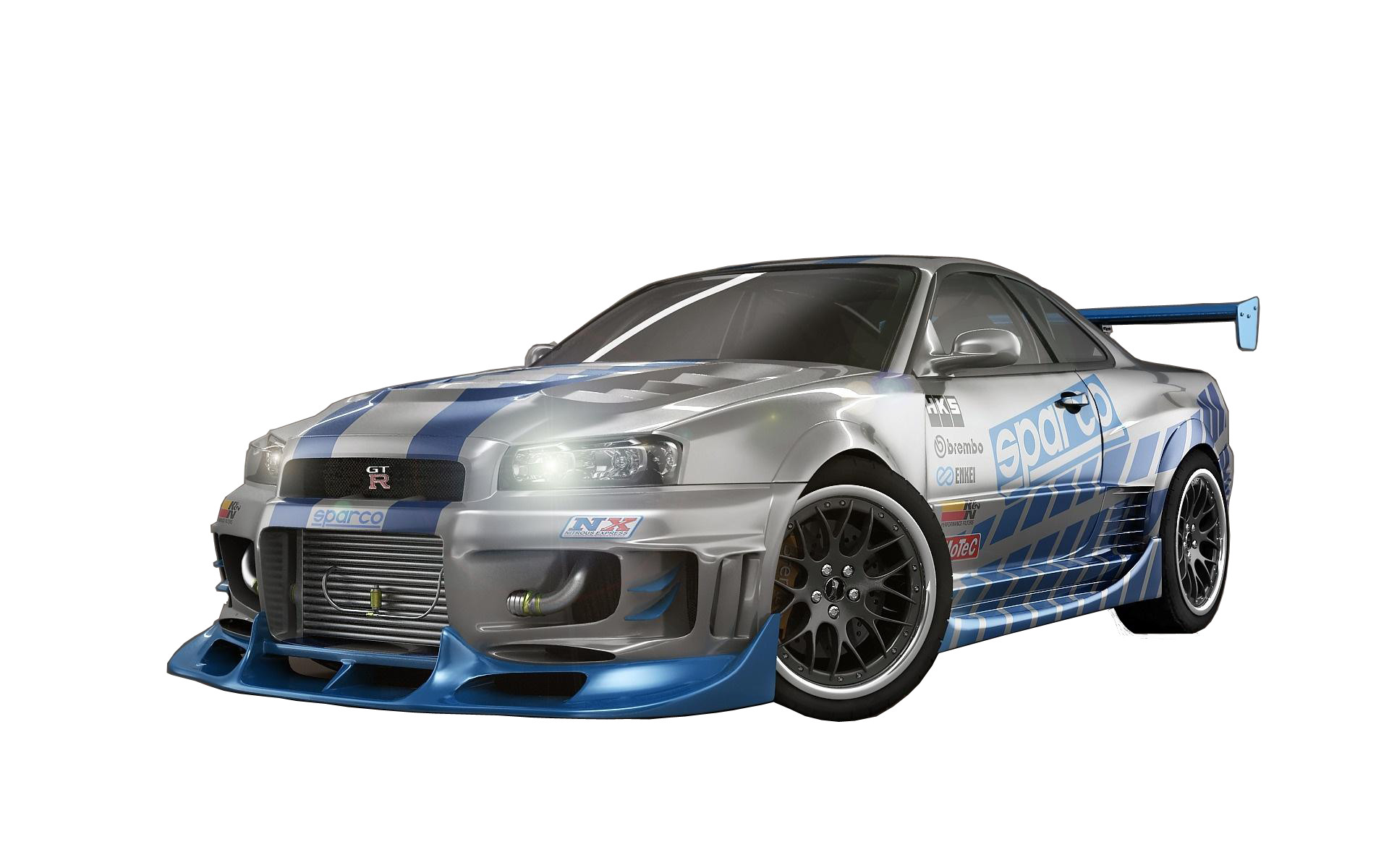 1920x1200 Nissan Skyline Fast and Furious 7 Sport Car Wallpaper