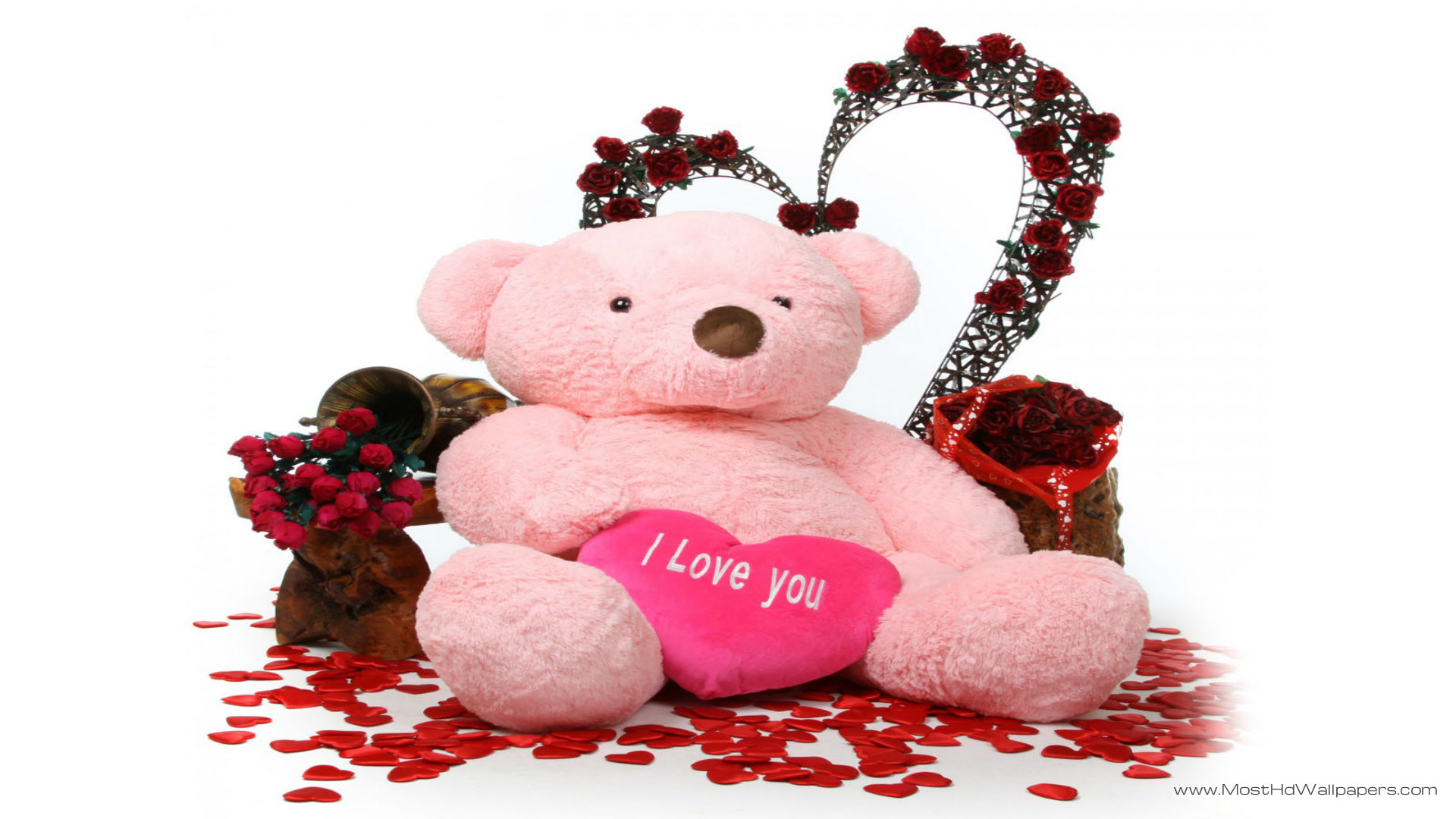 Lovely And Beautiful Teddy Bear Wallpapers: Teddy Bear Wallpaper (58+ Images
