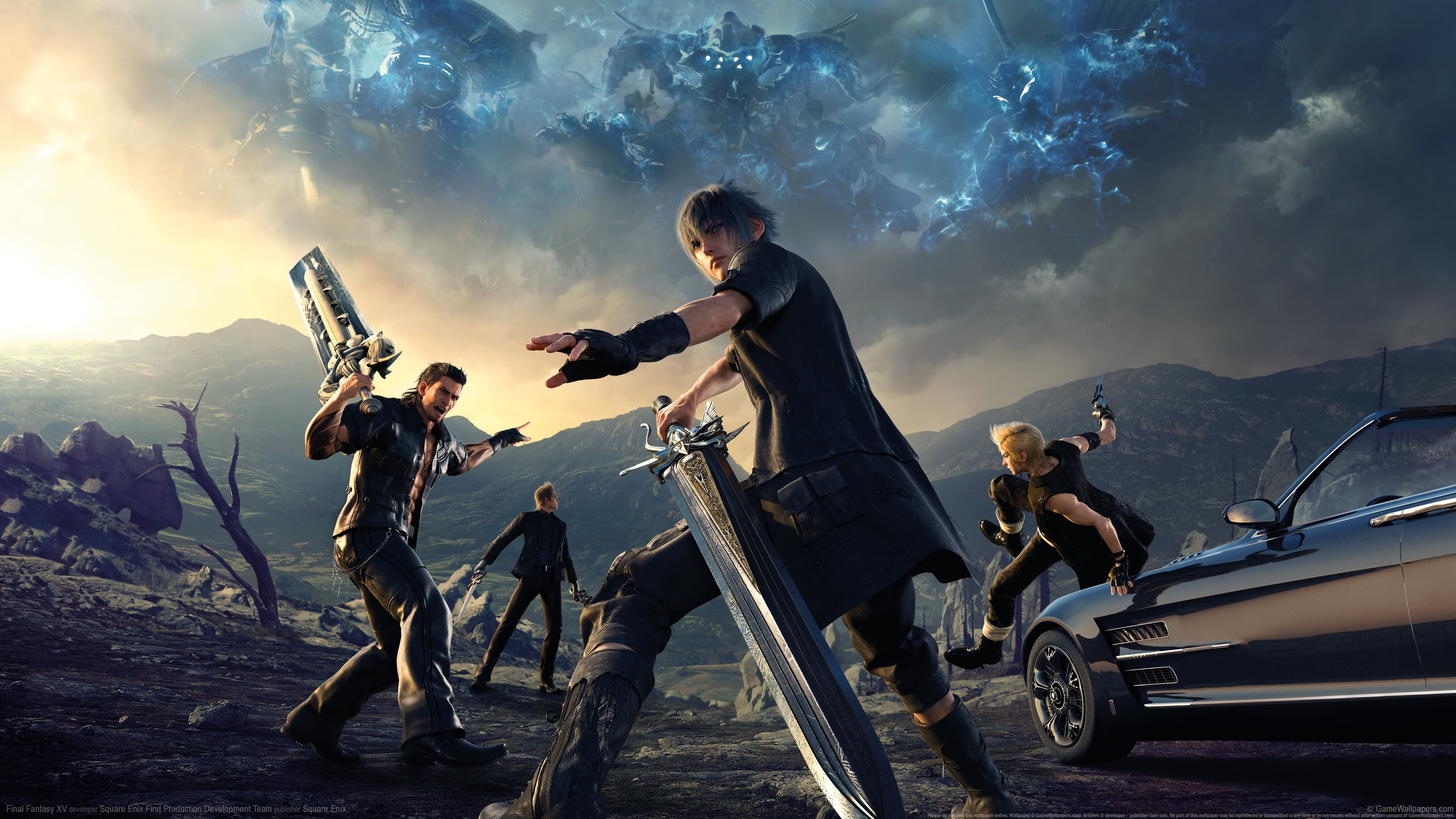 Final Fantasy Xv Hd Wallpaper 81 Images
