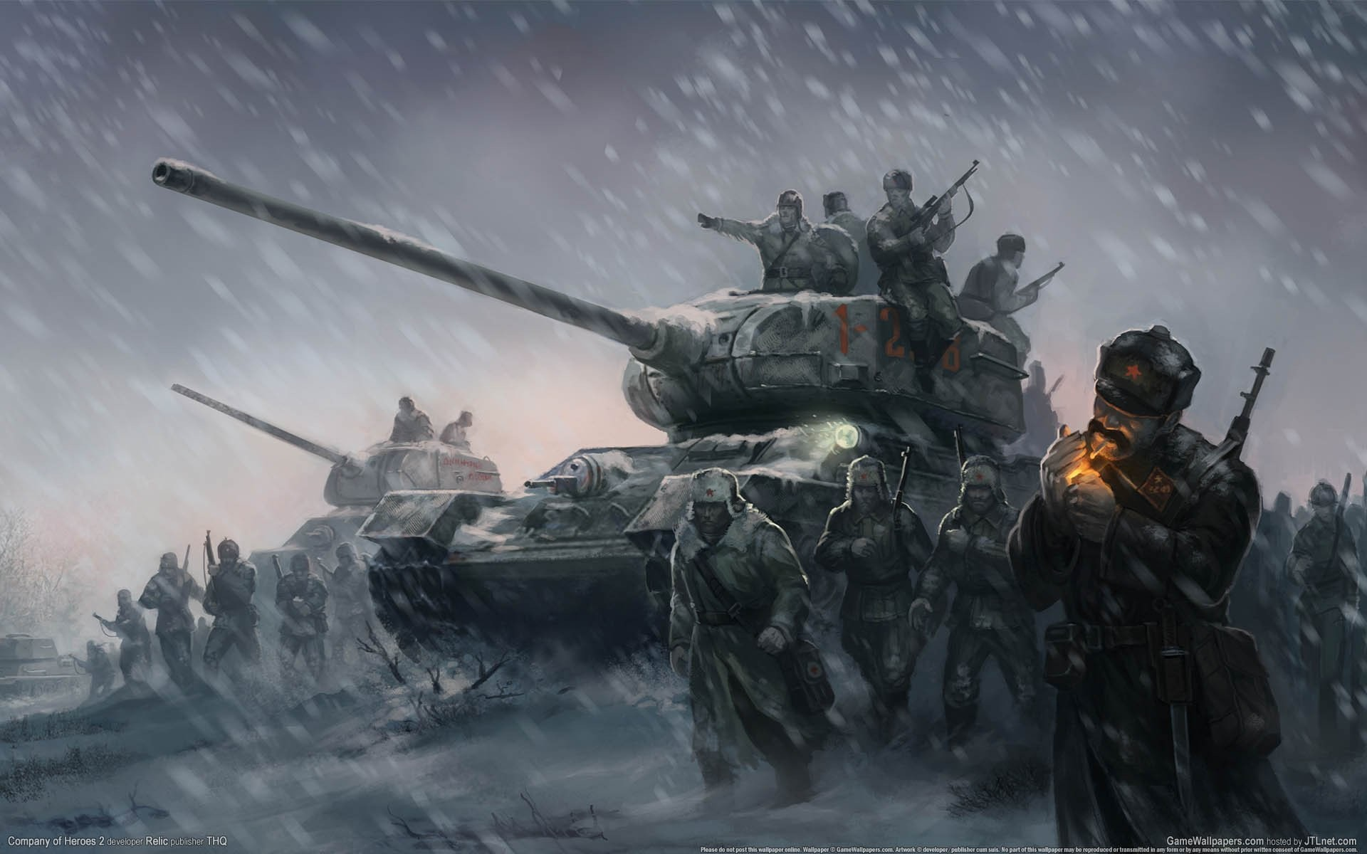 1920x1200 company of heroes 2 game wallpapers world war 2 ww2 tanks soldiers wallpaper  the second world